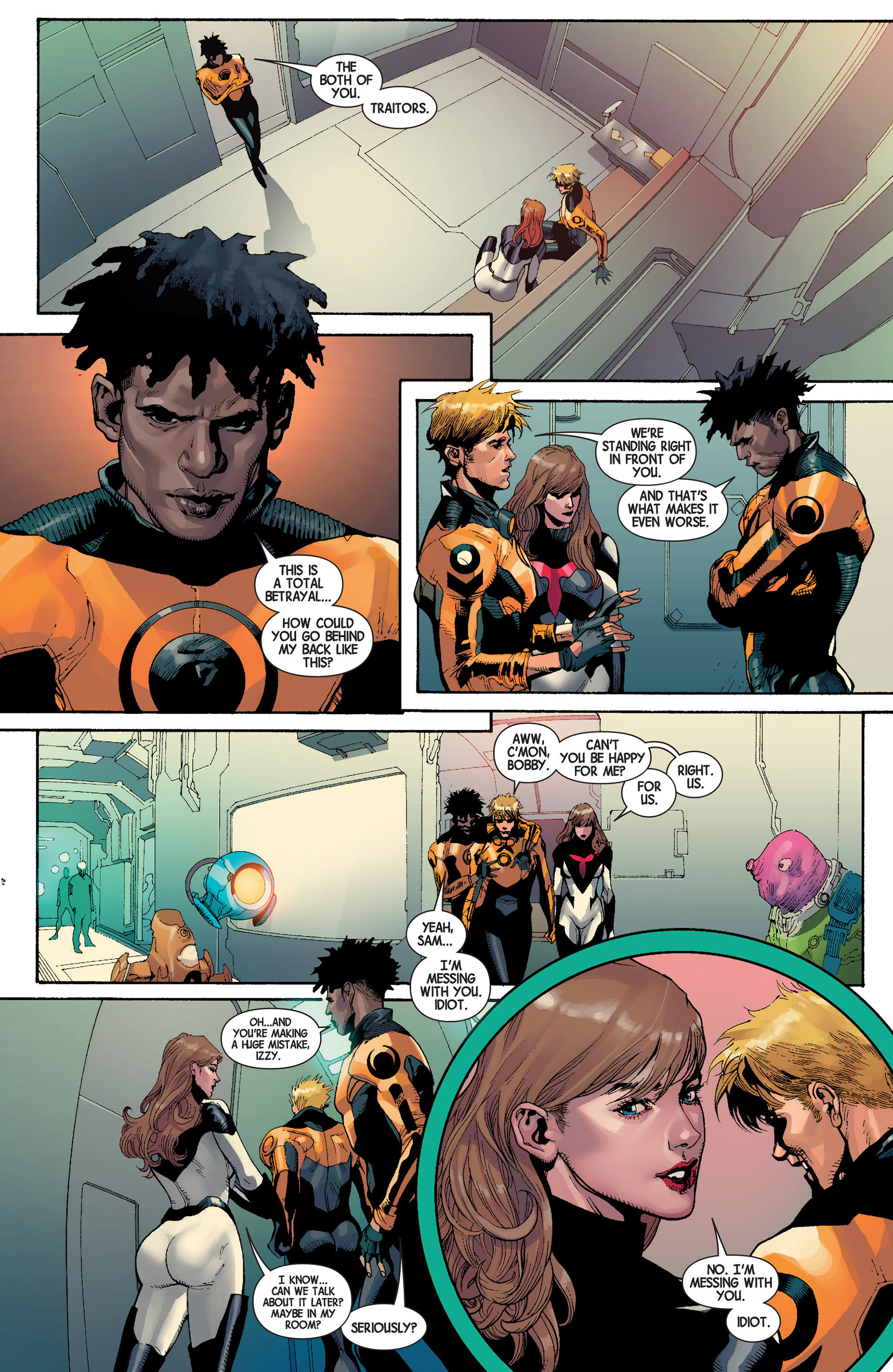Read online Avengers (2013) comic -  Issue #22 - 7