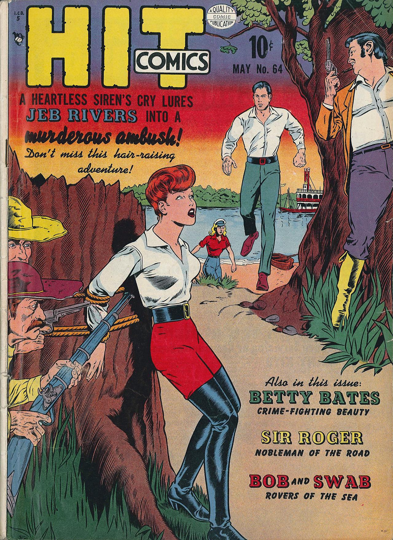 Read online Hit Comics comic -  Issue #64 - 1