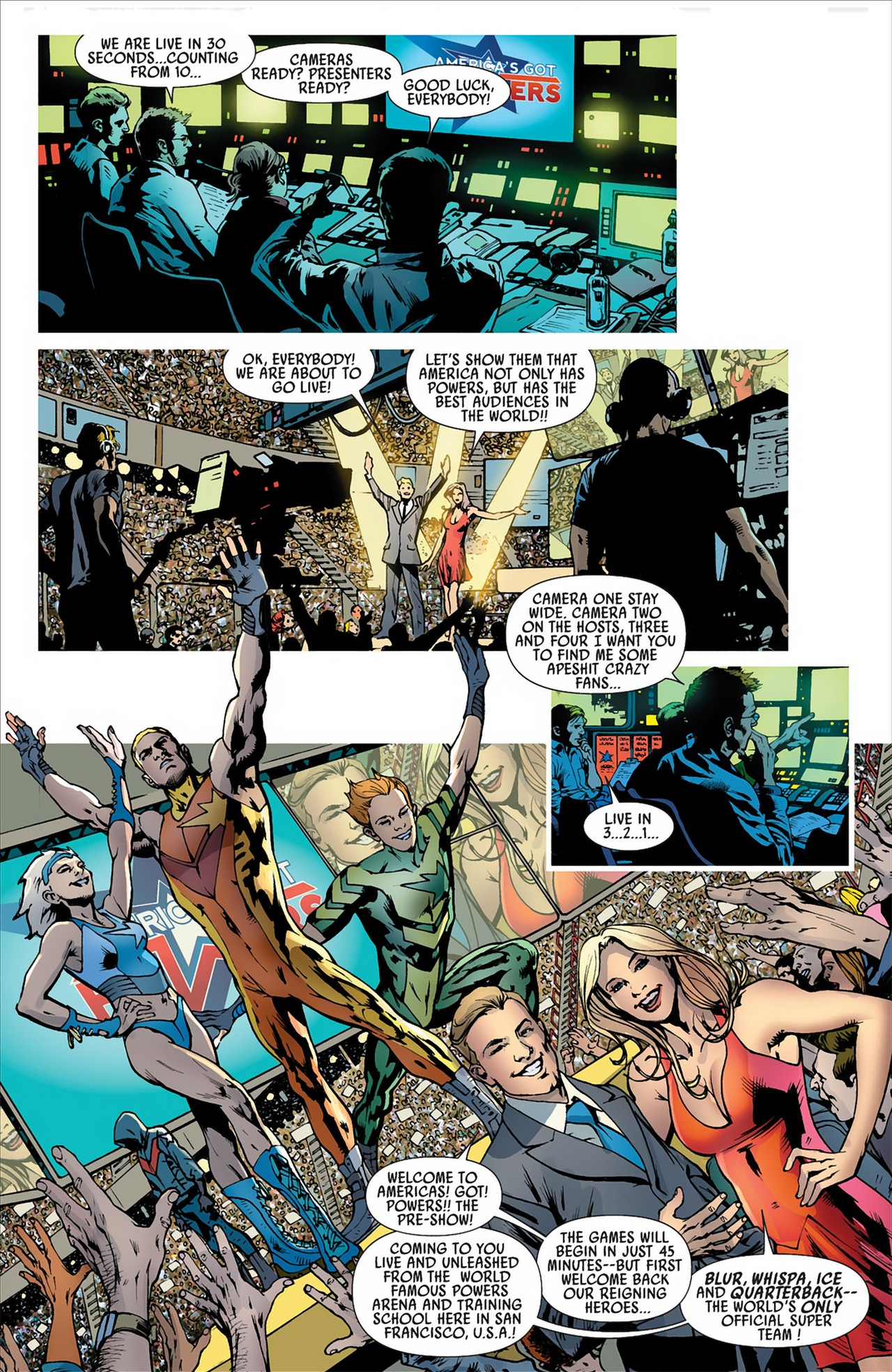 Read online America's Got Powers comic -  Issue #2 - 19