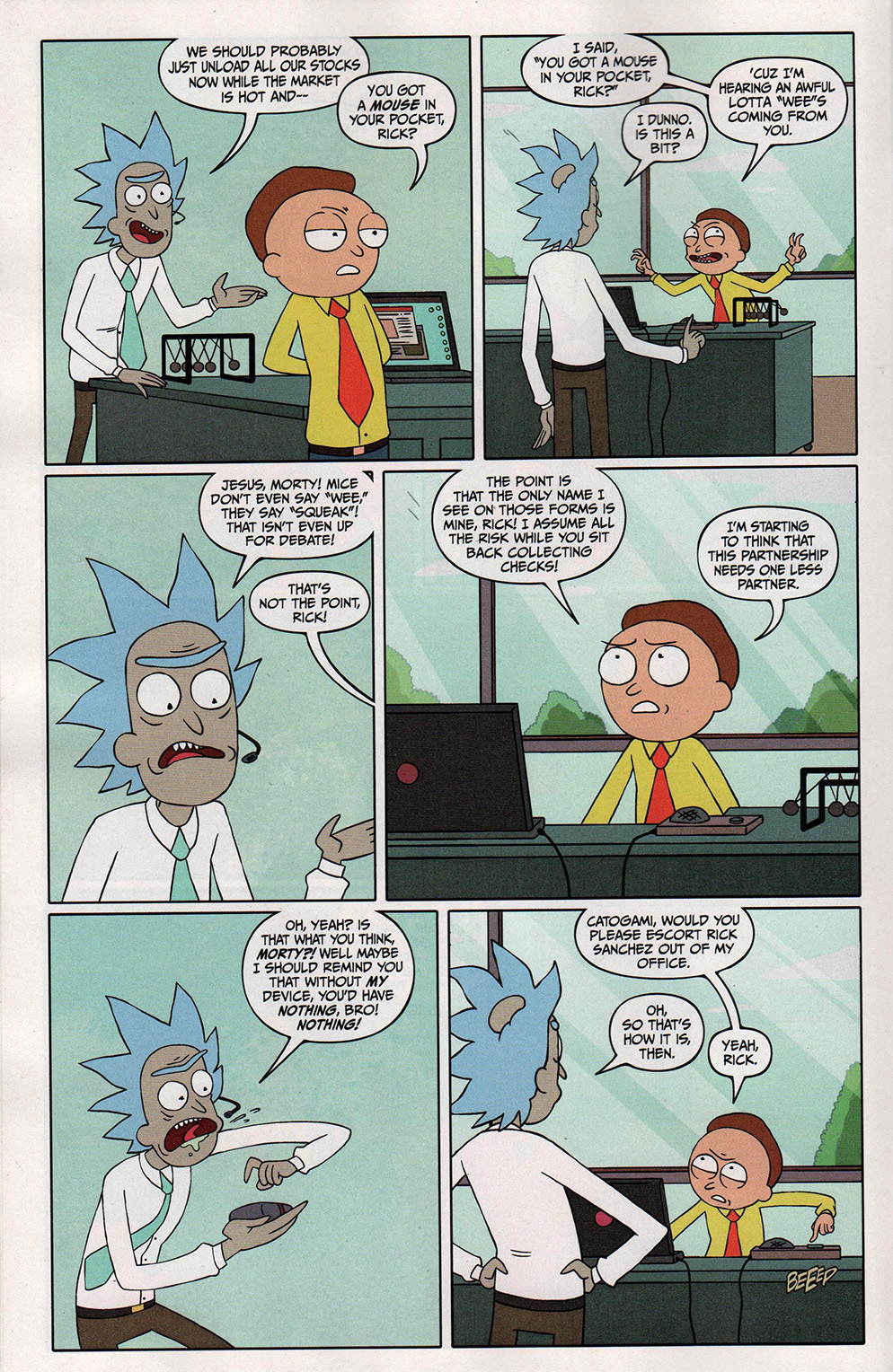 Read online Free Comic Book Day 2017 comic -  Issue # Rick and Morty - 14