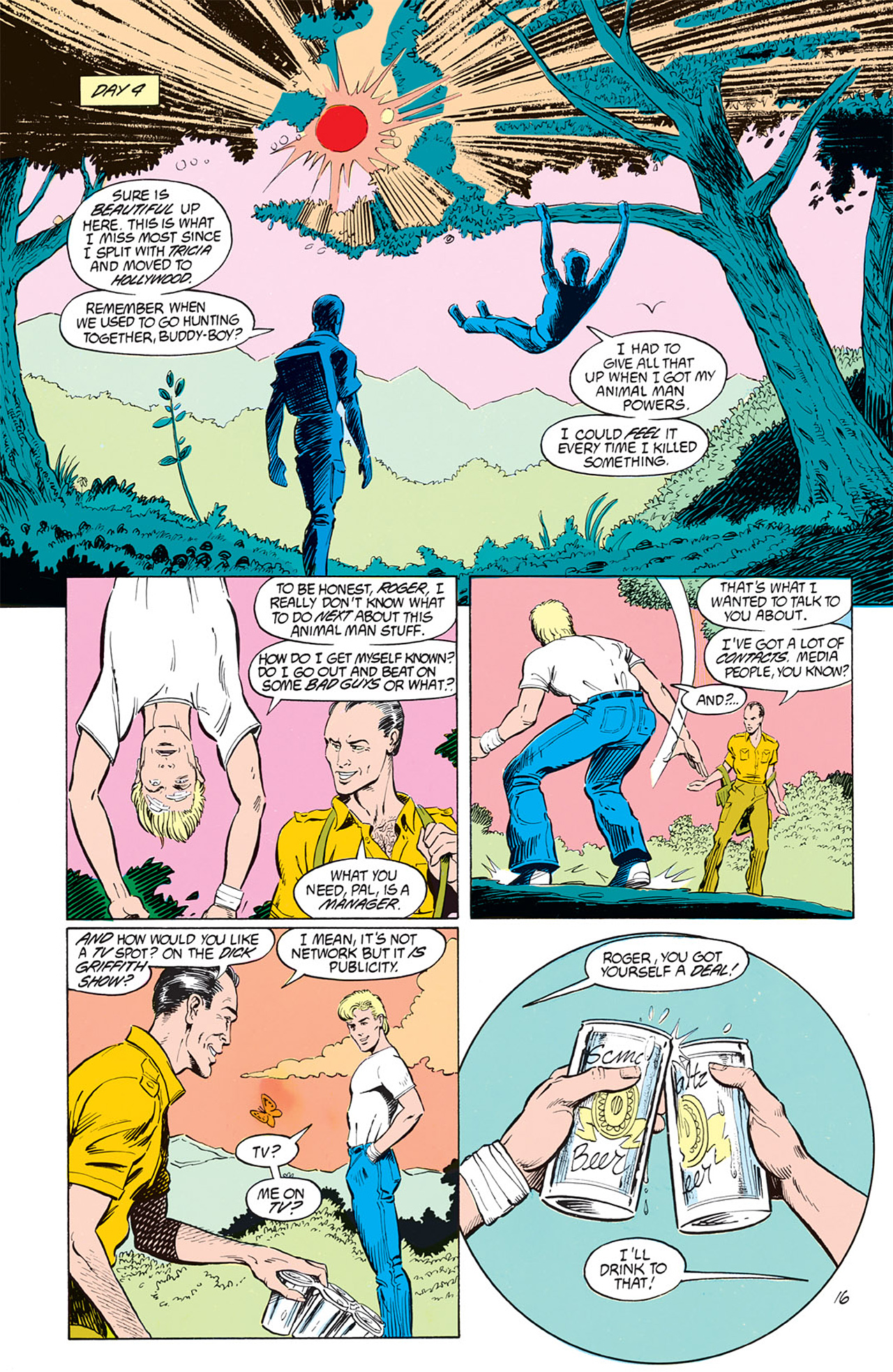 Read online Animal Man (1988) comic -  Issue #1 - 18