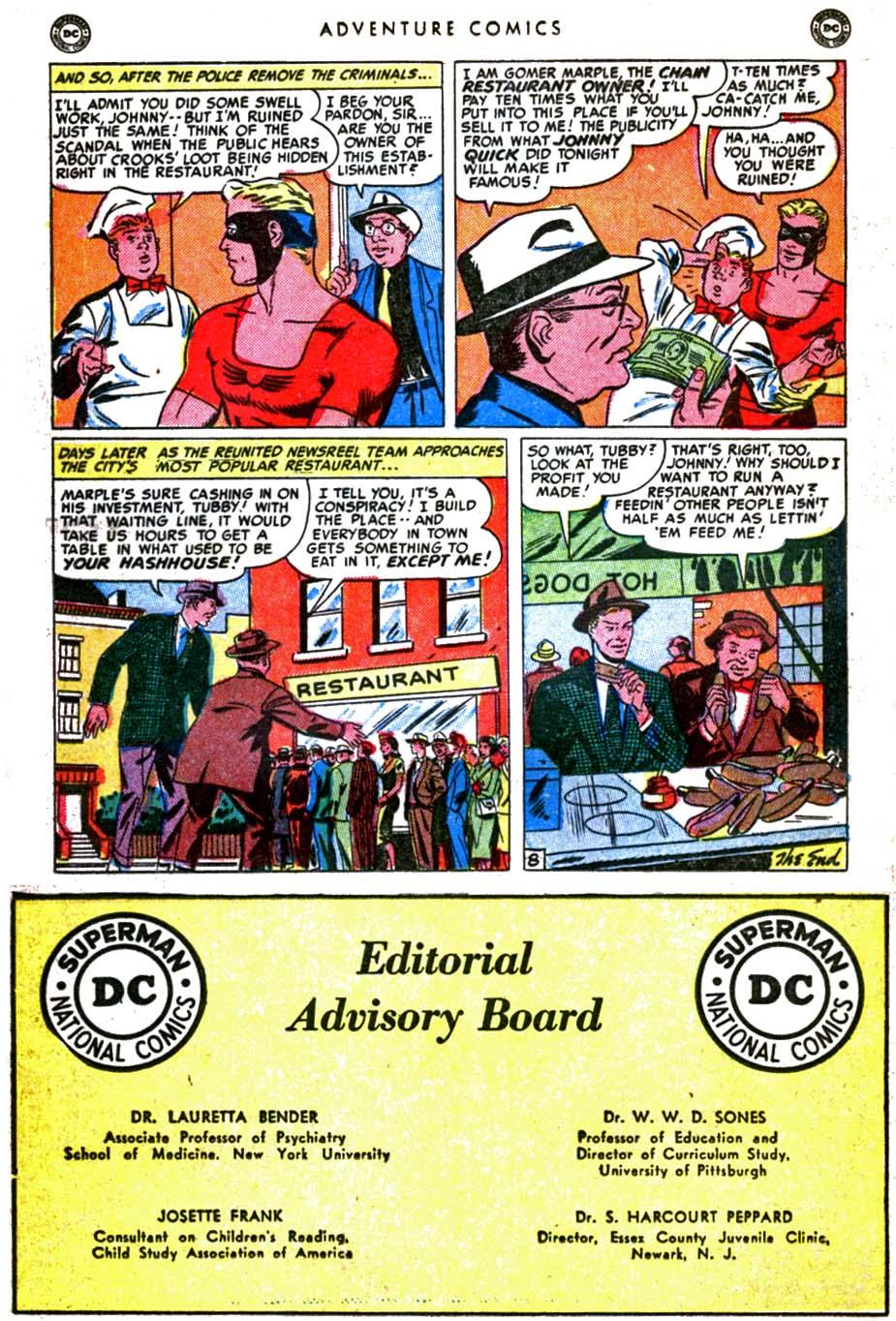 Read online Adventure Comics (1938) comic -  Issue #160 - 32