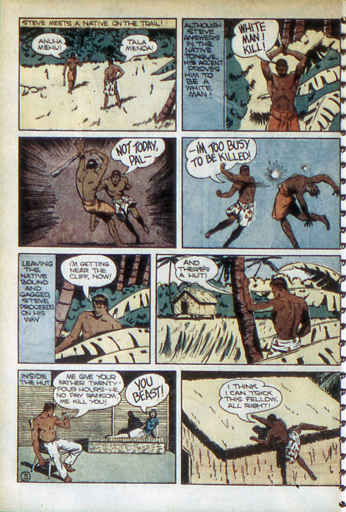 Read online Adventure Comics (1938) comic -  Issue #52 - 33