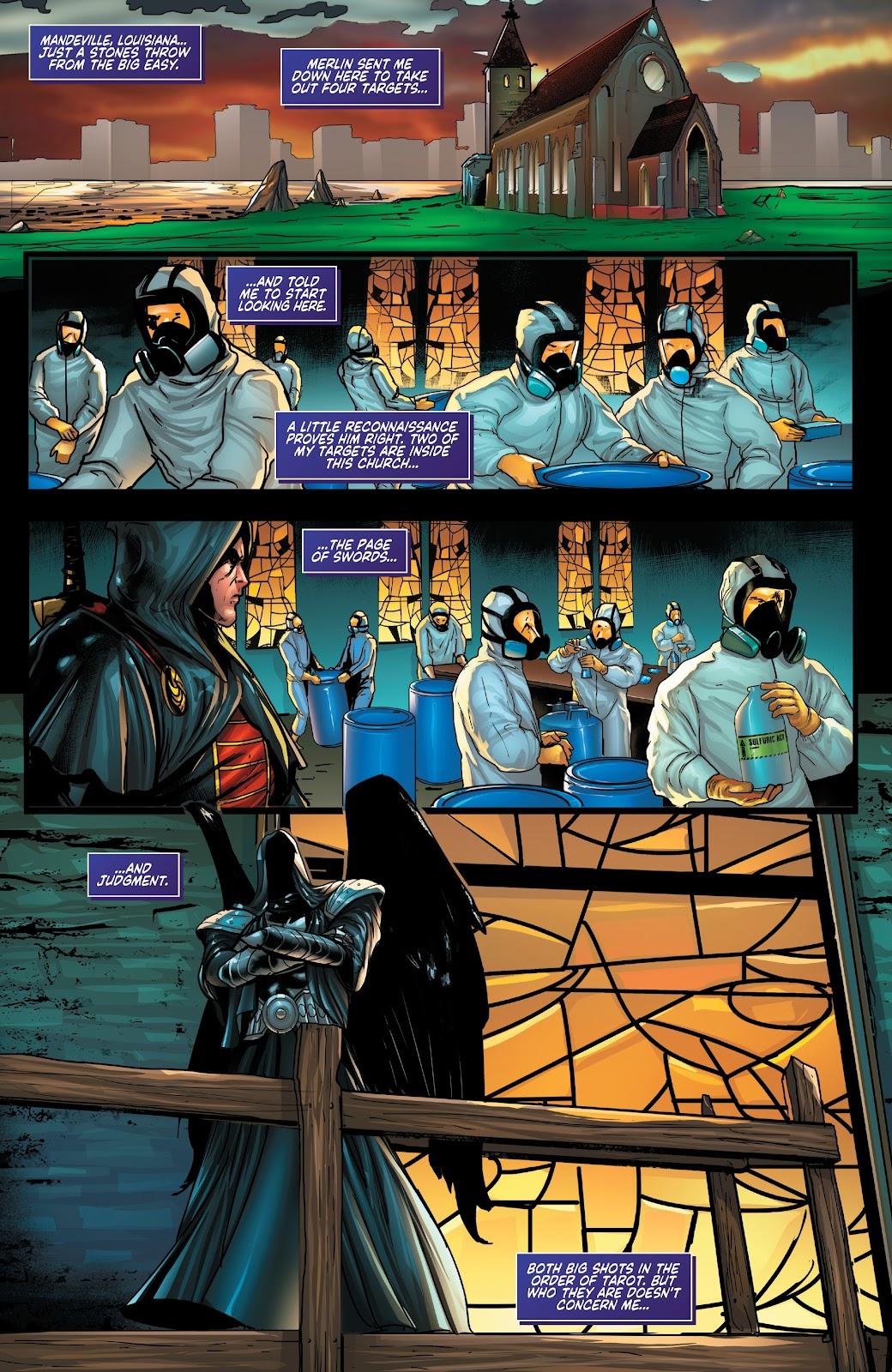 Read online Zodiac comic -  Issue #1 - 6