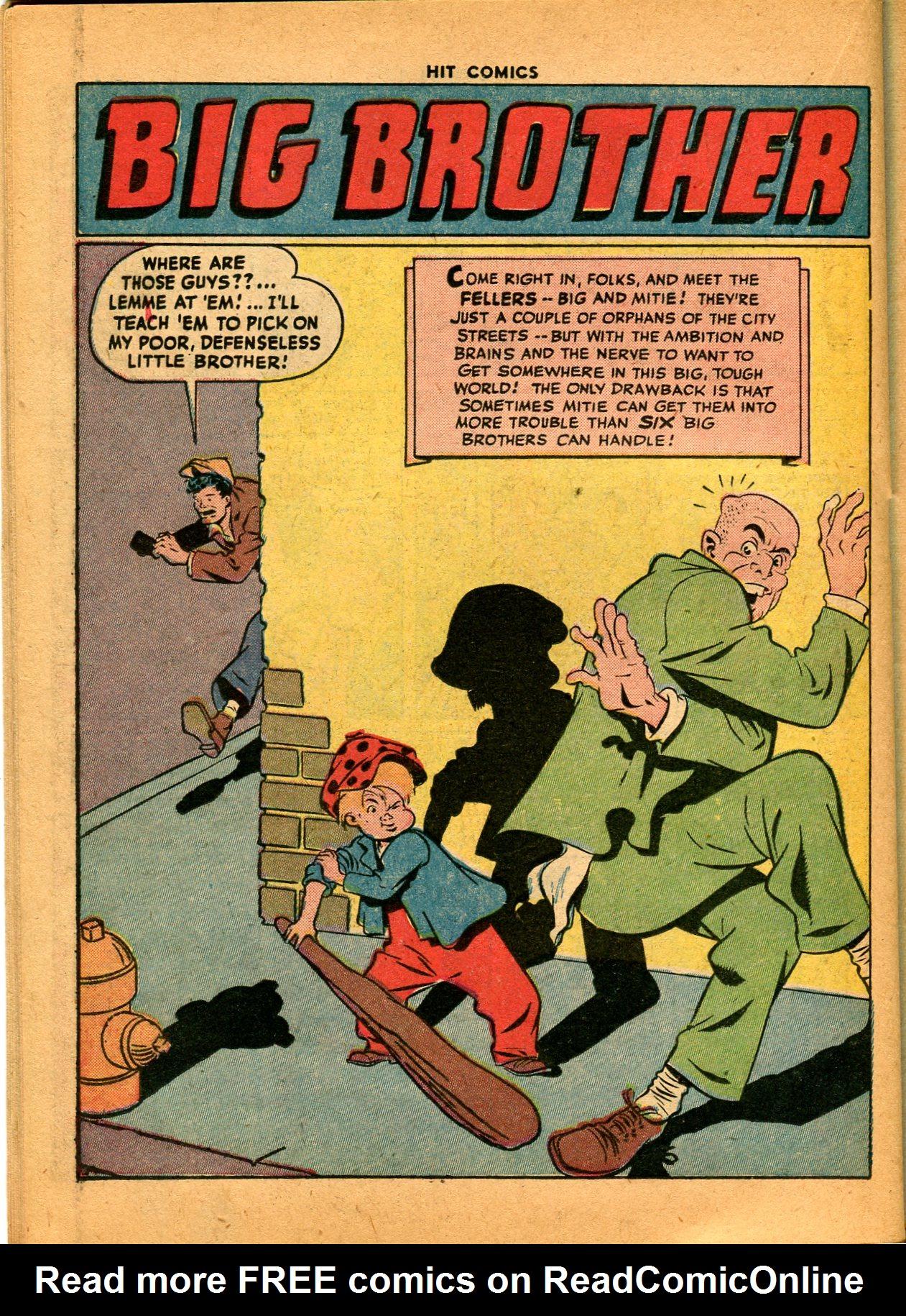 Read online Hit Comics comic -  Issue #35 - 38