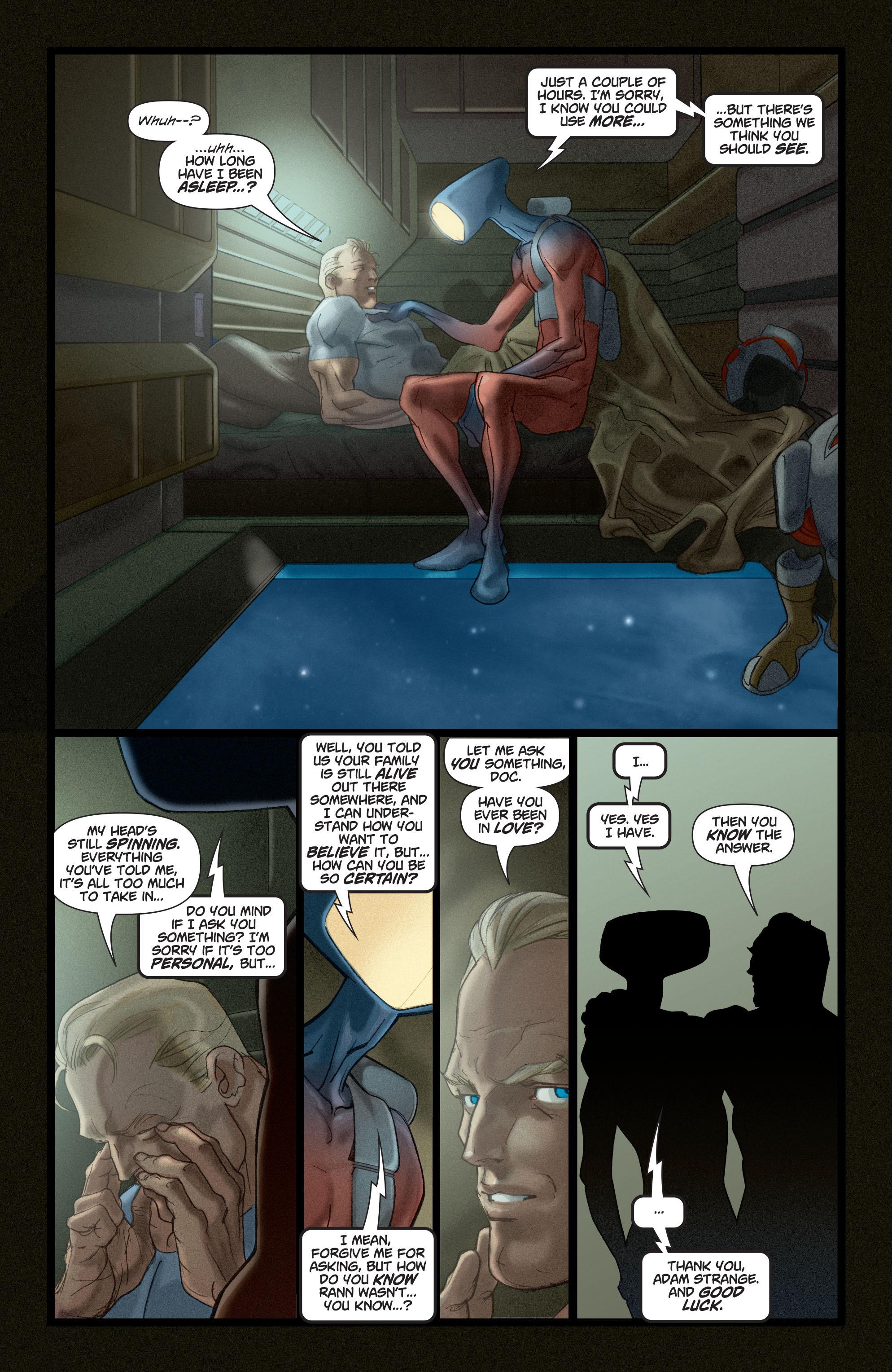 Read online Adam Strange (2004) comic -  Issue #4 - 18