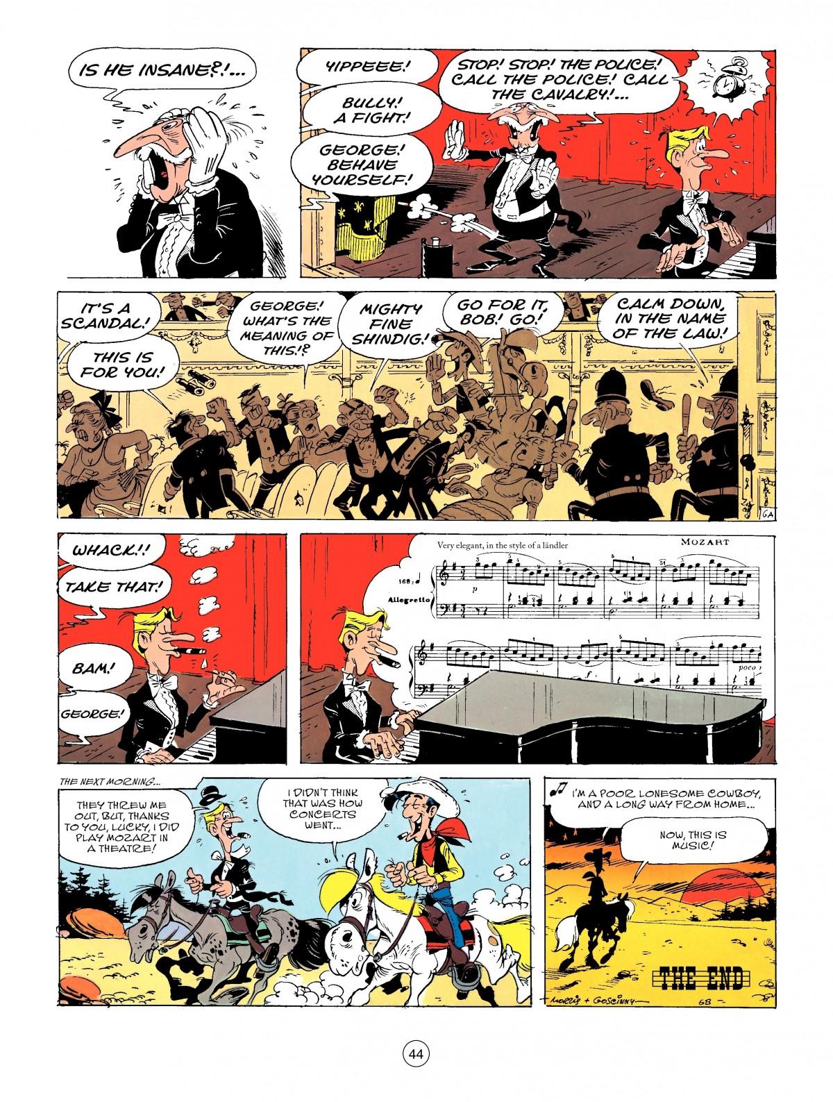 Read online A Lucky Luke Adventure comic -  Issue #50 - 44