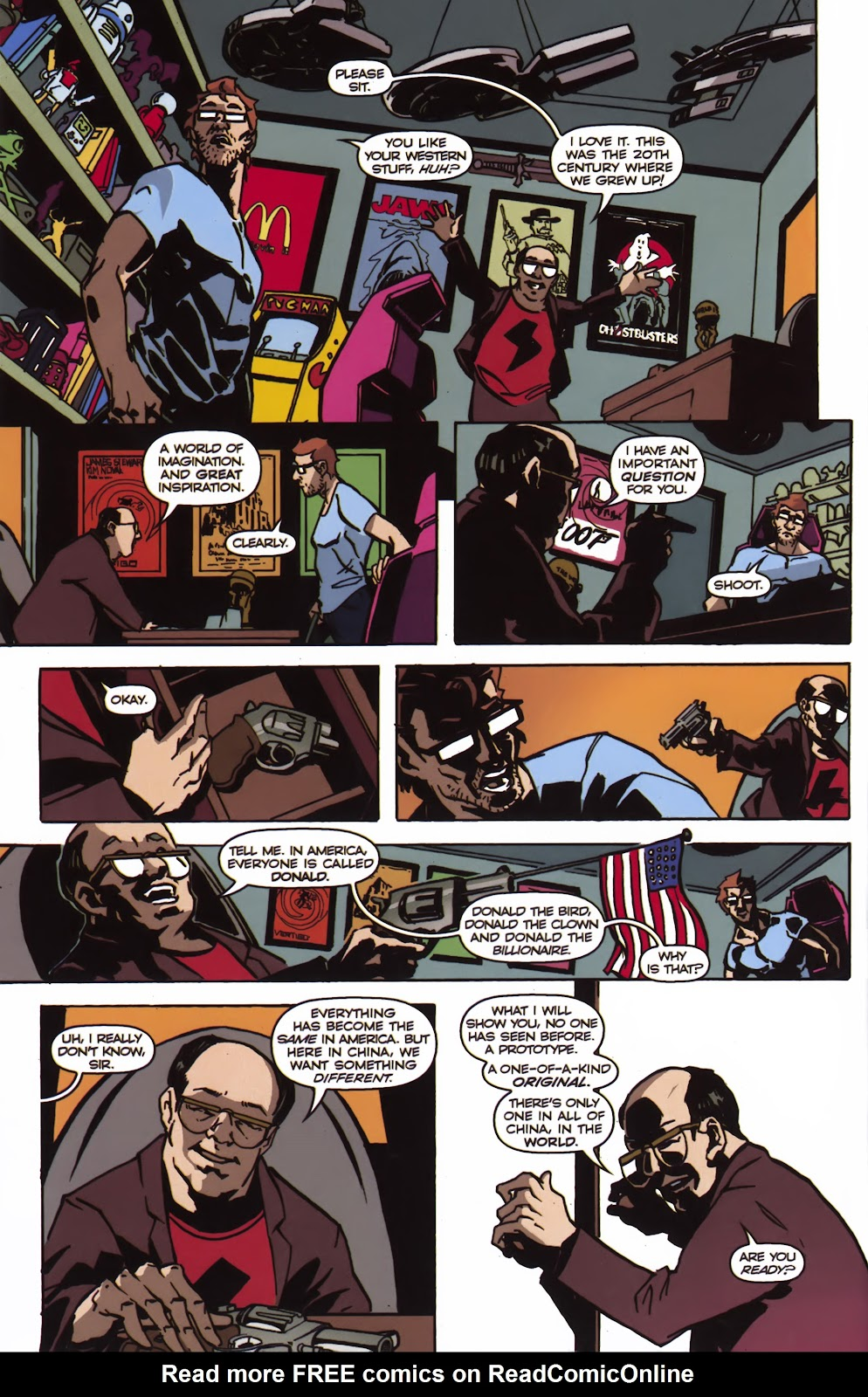 Read online Ricky Rouse Has A Gun comic -  Issue # TPB (Part 1) - 33