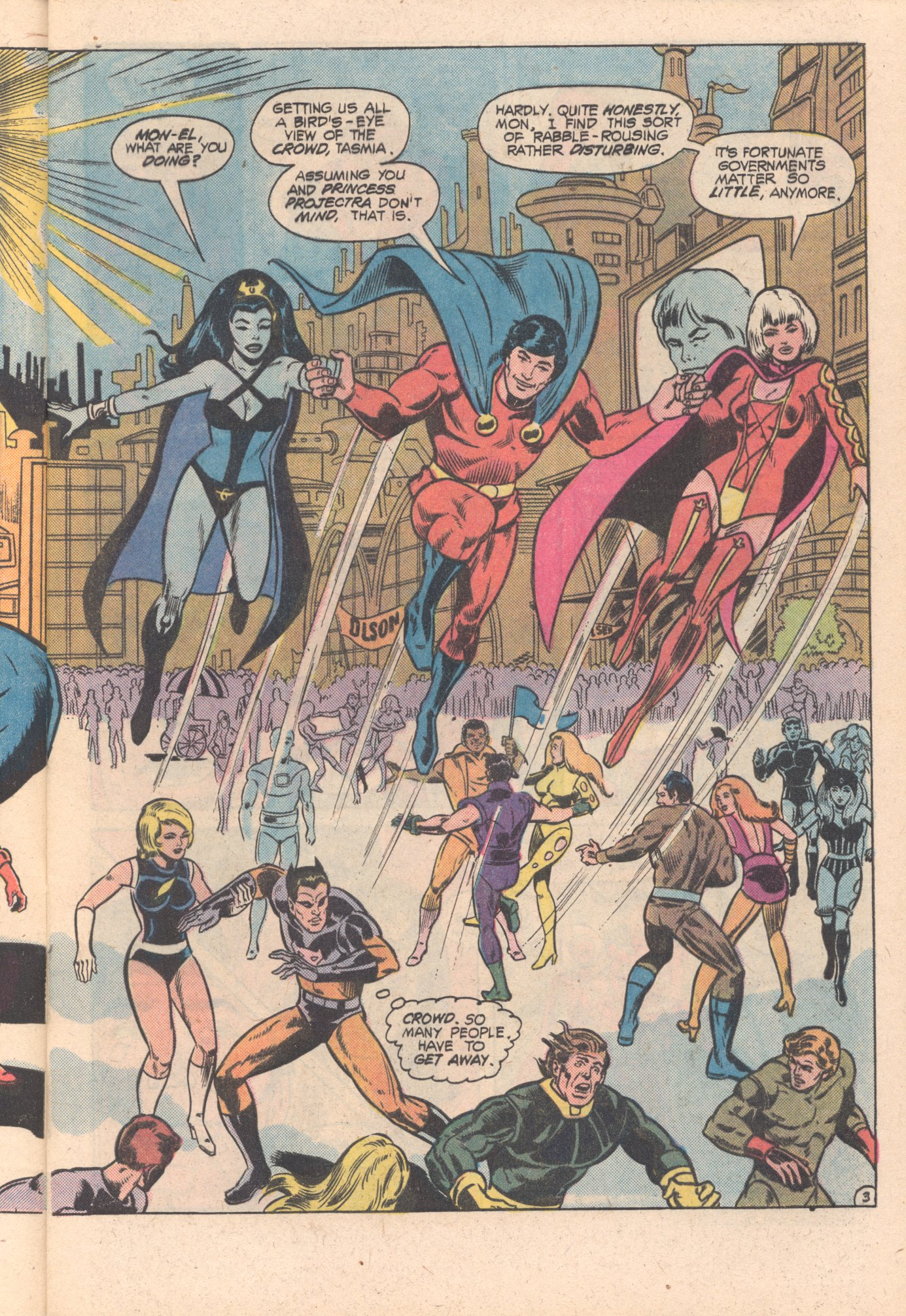 Legion of Super-Heroes (1980) 269 Page 4