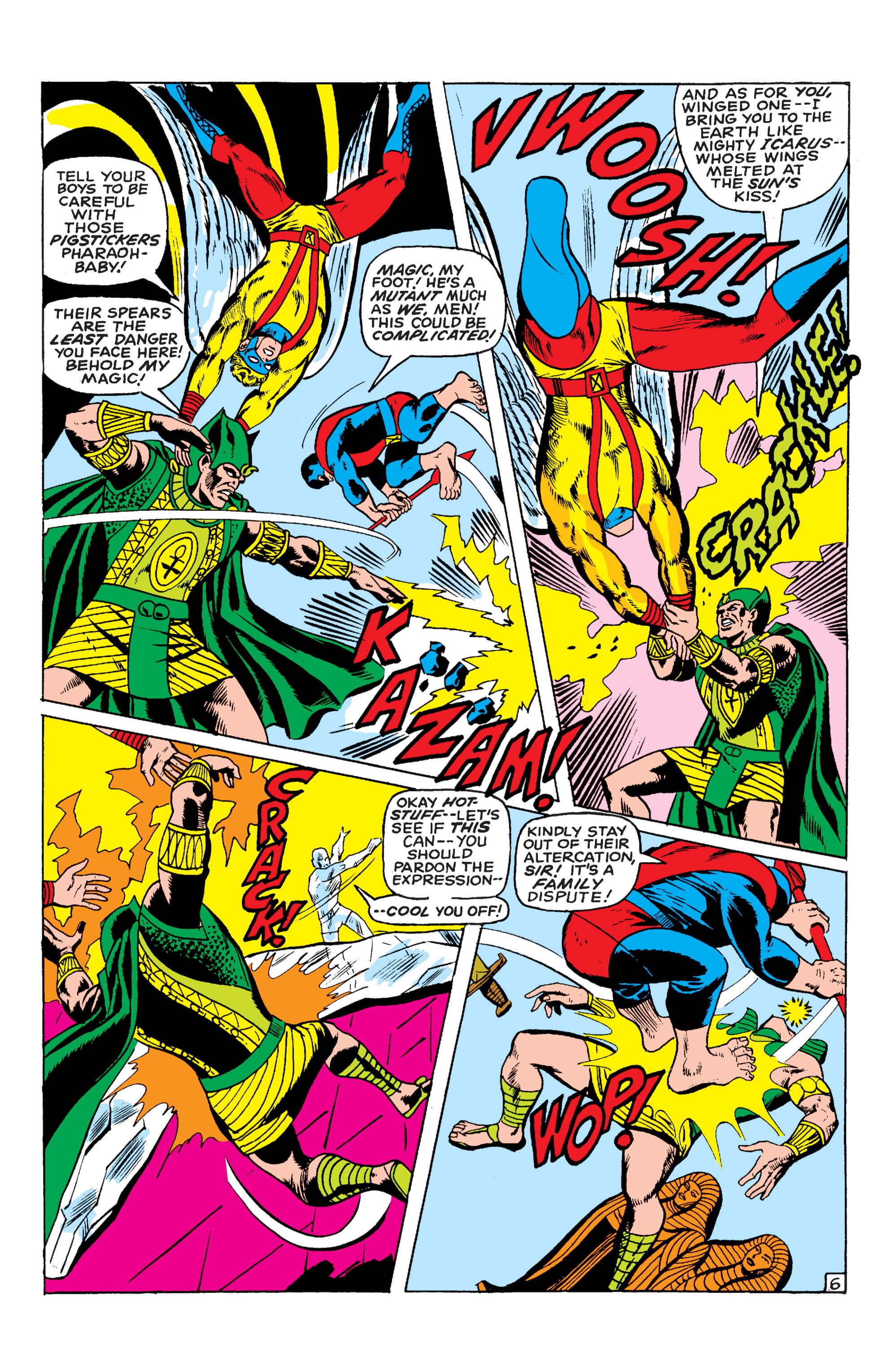 Read online Uncanny X-Men (1963) comic -  Issue #54 - 7