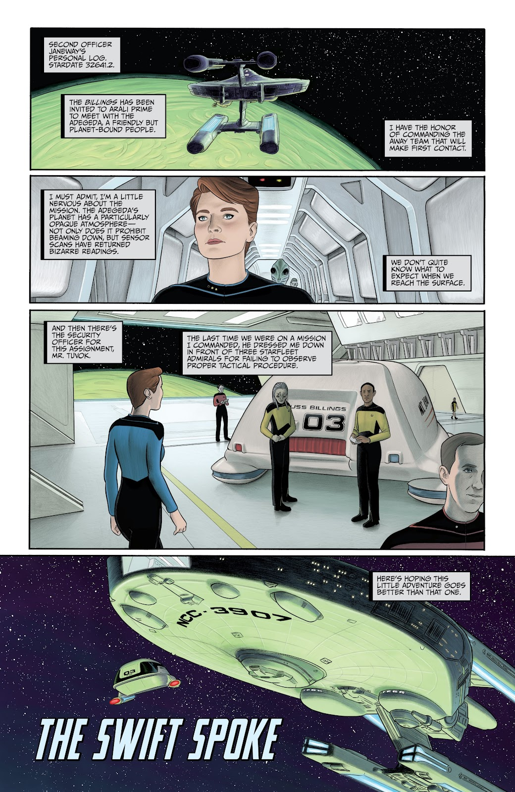 Read online Star Trek: Waypoint Special 2019 comic -  Issue # Full - 23