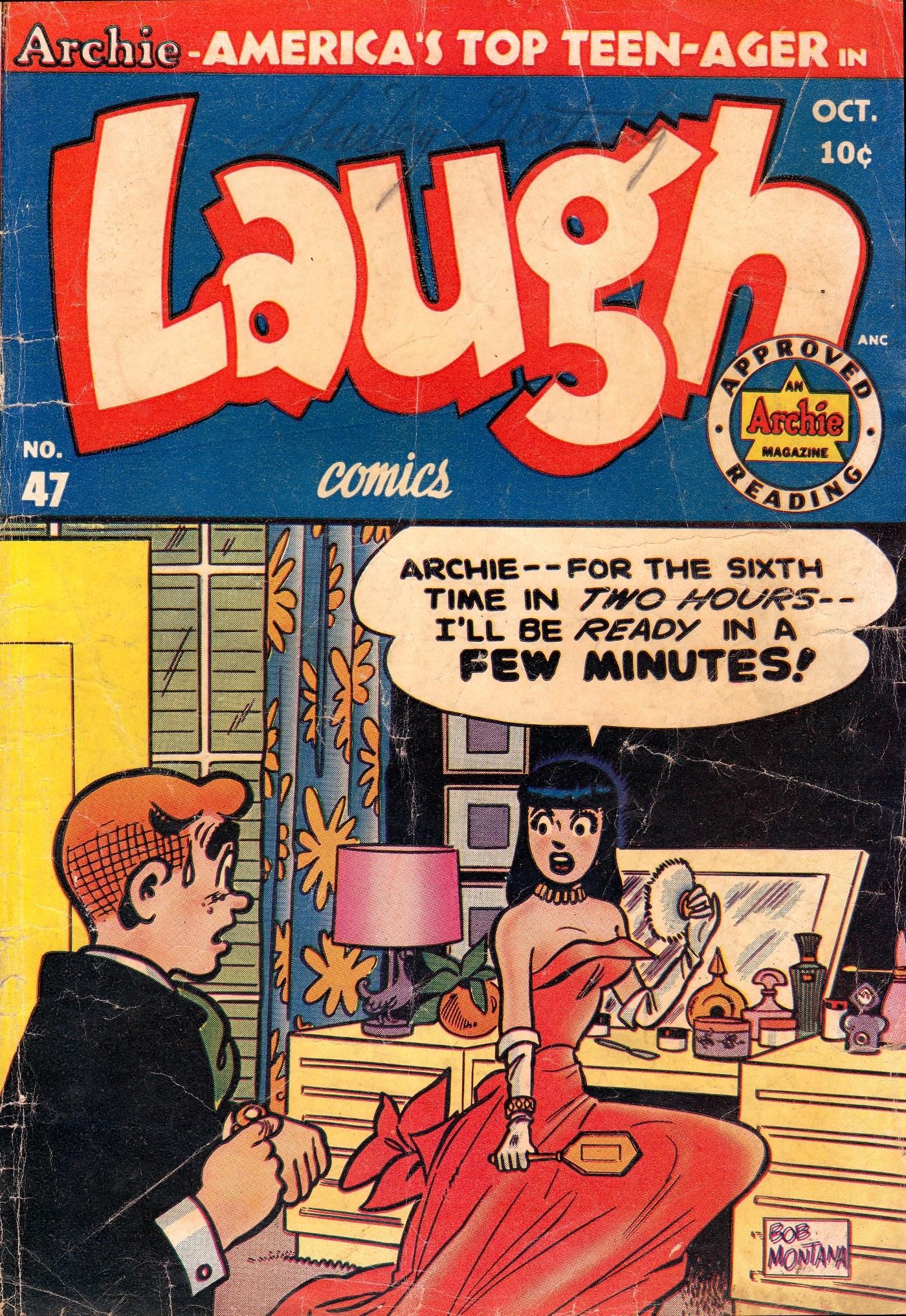 Laugh (Comics) 47 Page 1