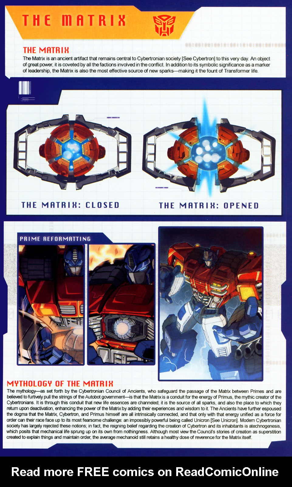 Read online Transformers: More than Meets the Eye comic -  Issue #8 - 33