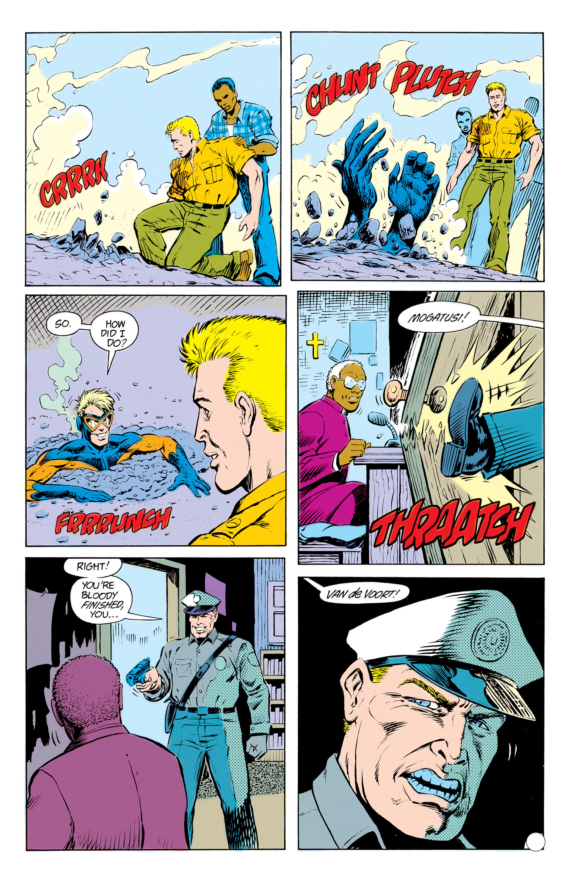 Read online Animal Man (1988) comic -  Issue #13 - 22