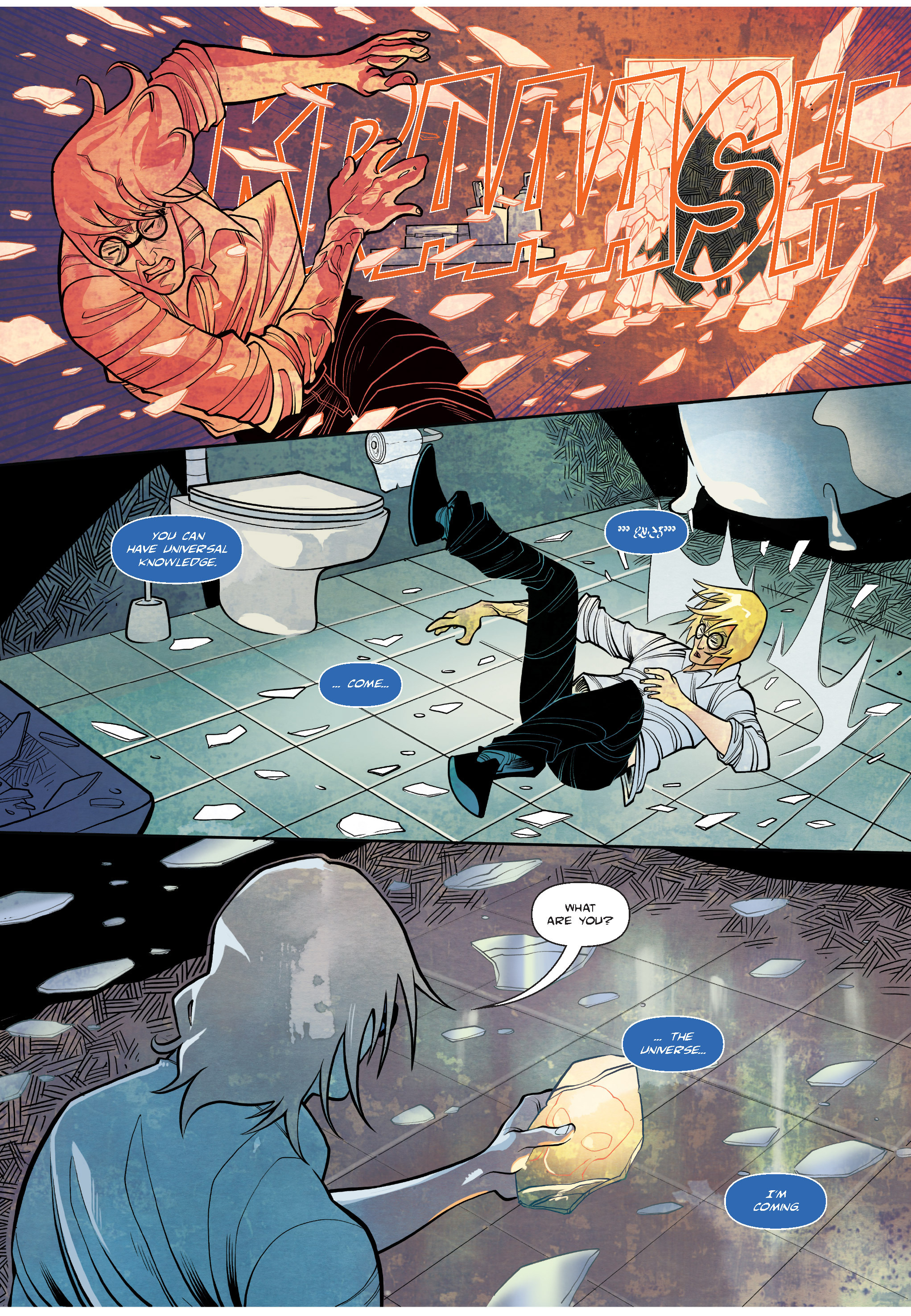 Read online The Shadow of a Terrible Thing comic -  Issue # TPB - 72