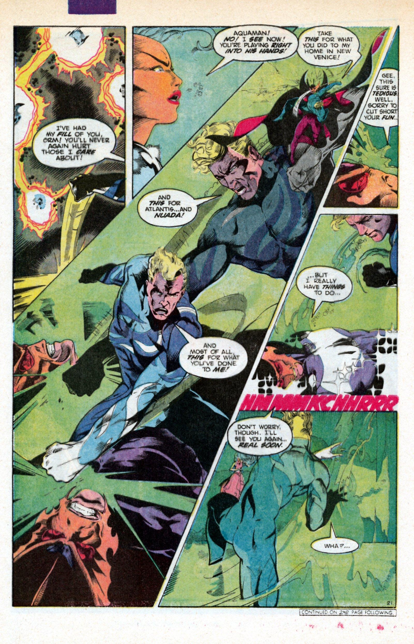 Read online Aquaman (1986) comic -  Issue #3 - 31