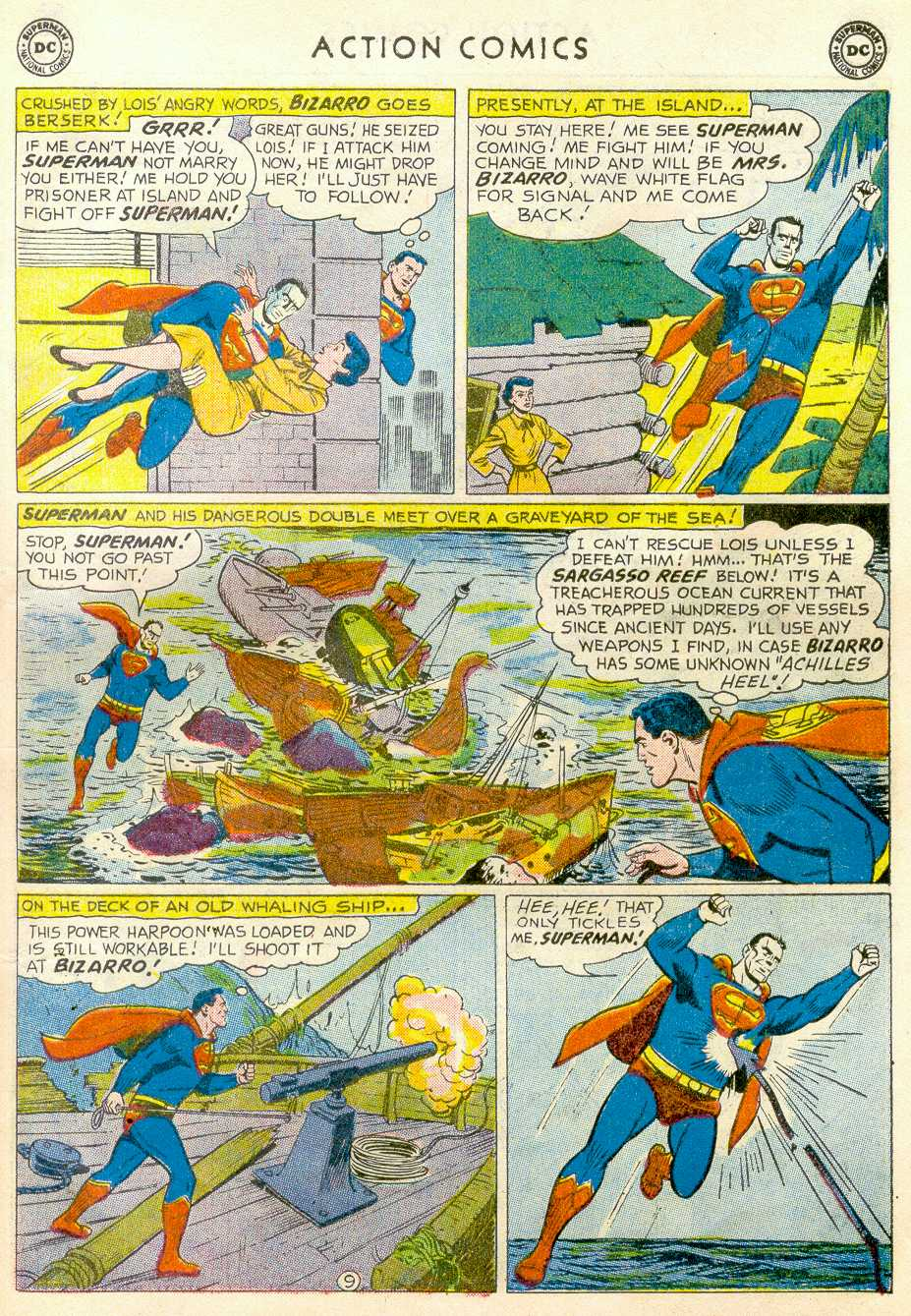 Read online Action Comics (1938) comic -  Issue #255 - 11