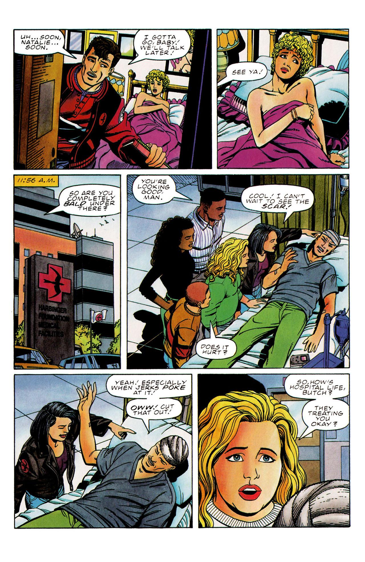 Read online Harbinger (1992) comic -  Issue #31 - 6