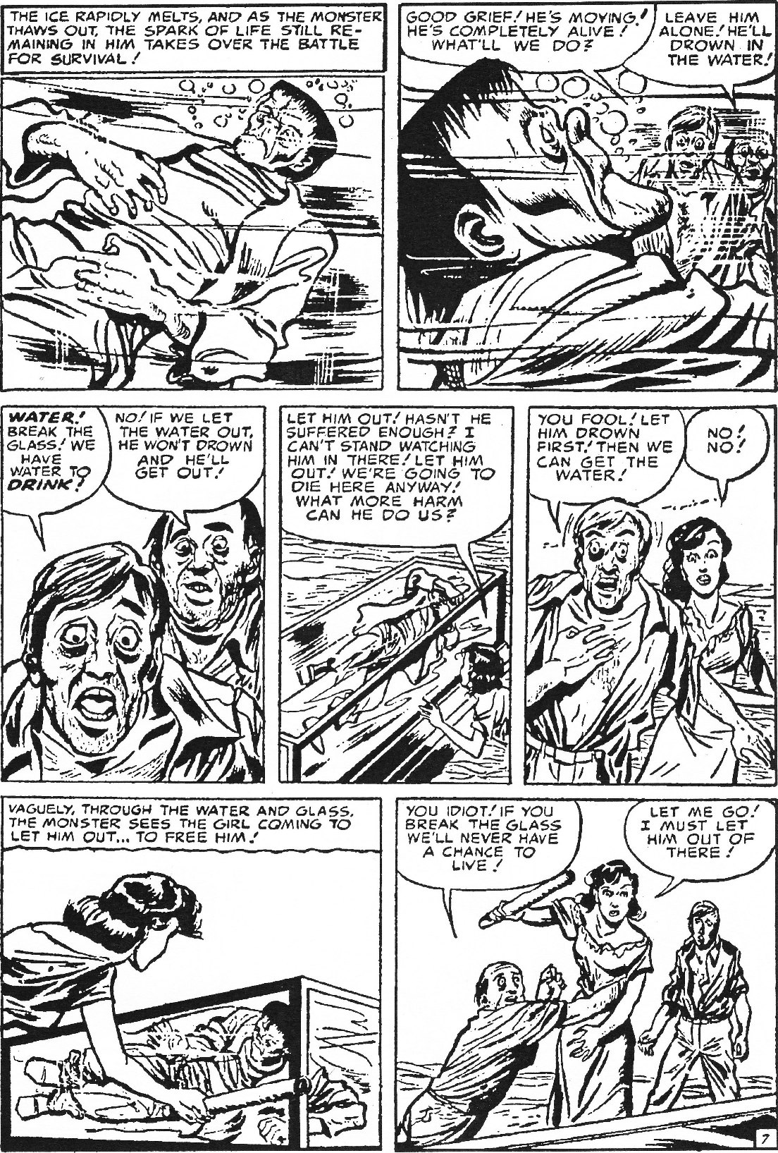 Read online Men of Mystery Comics comic -  Issue #63 - 19