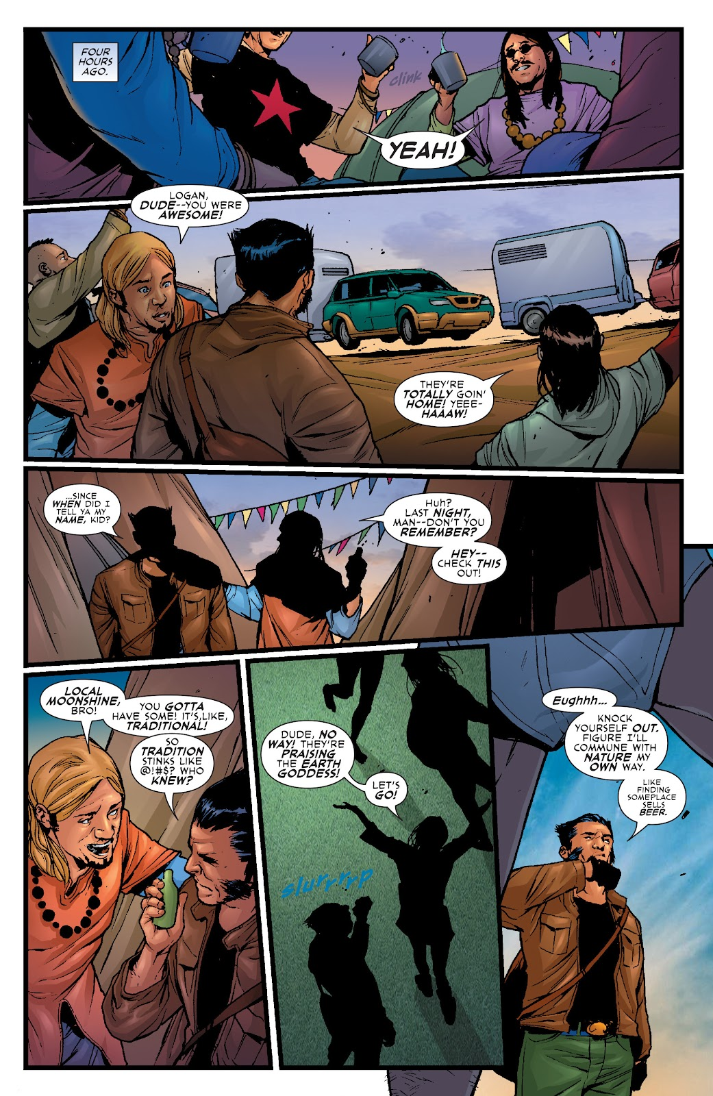 Wolverine: Dangerous Games issue Full - Page 13