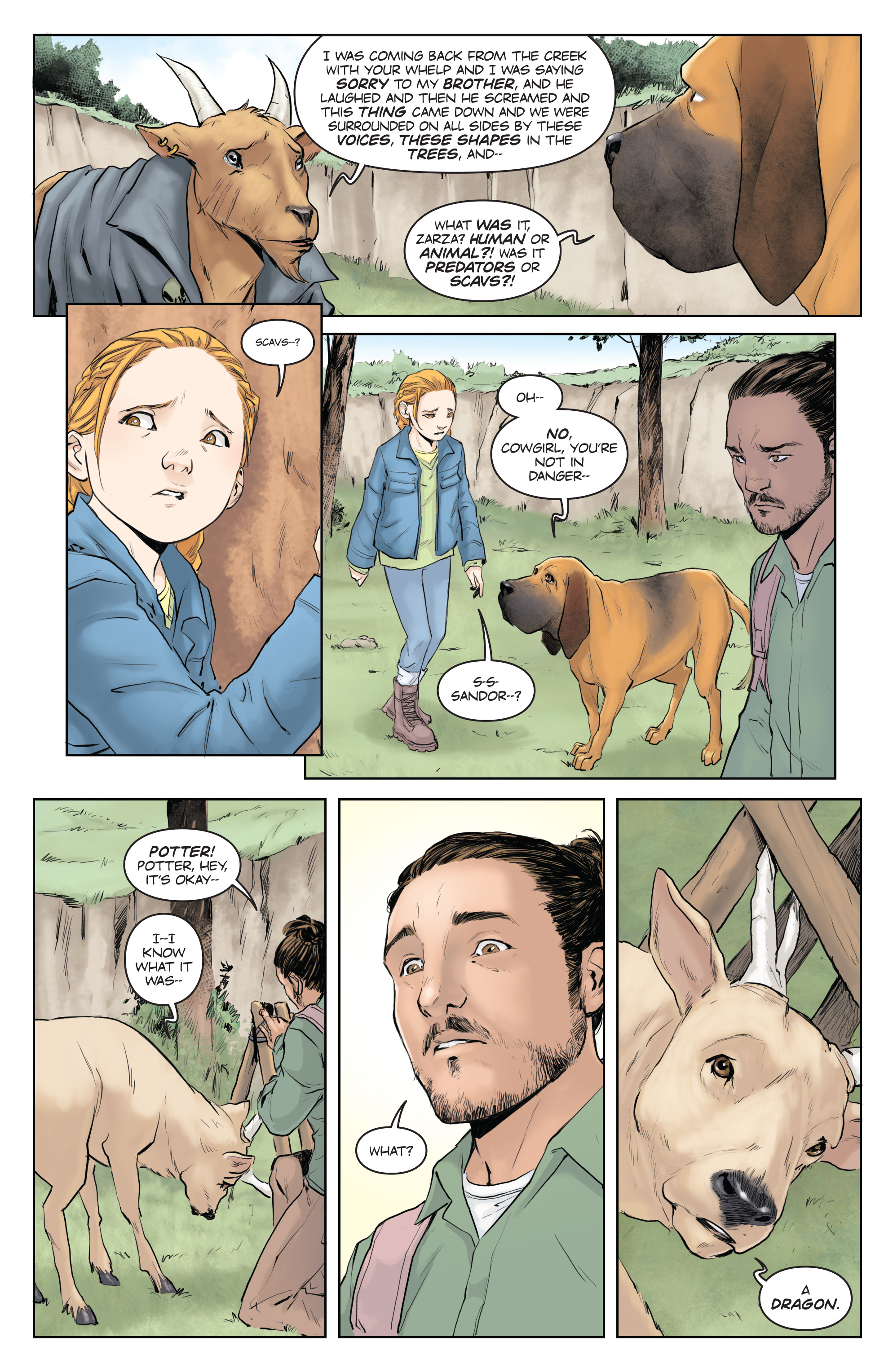 Read online Animosity comic -  Issue #5 - 15