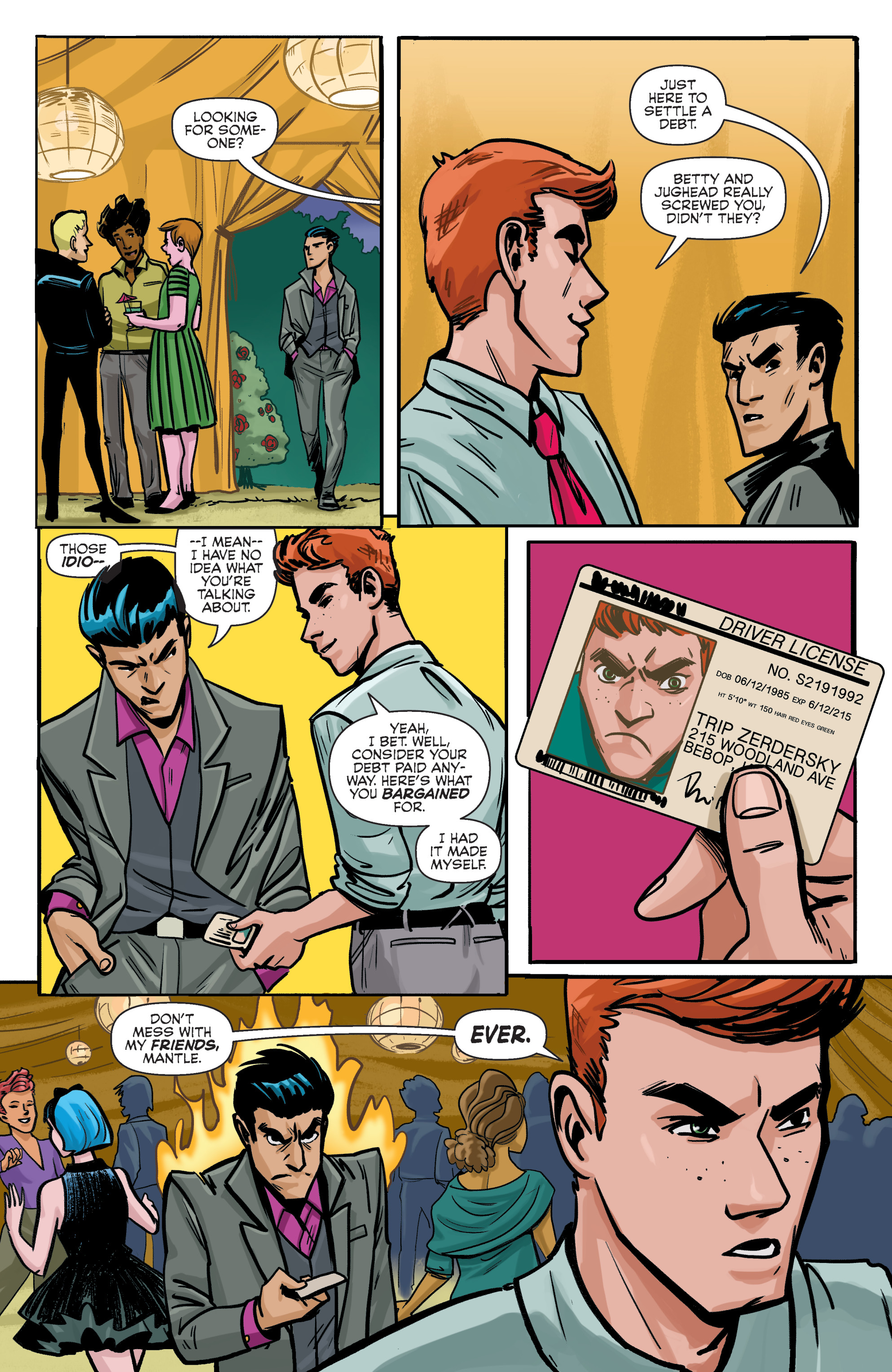 Read online Archie (2015) comic -  Issue #5 - 21