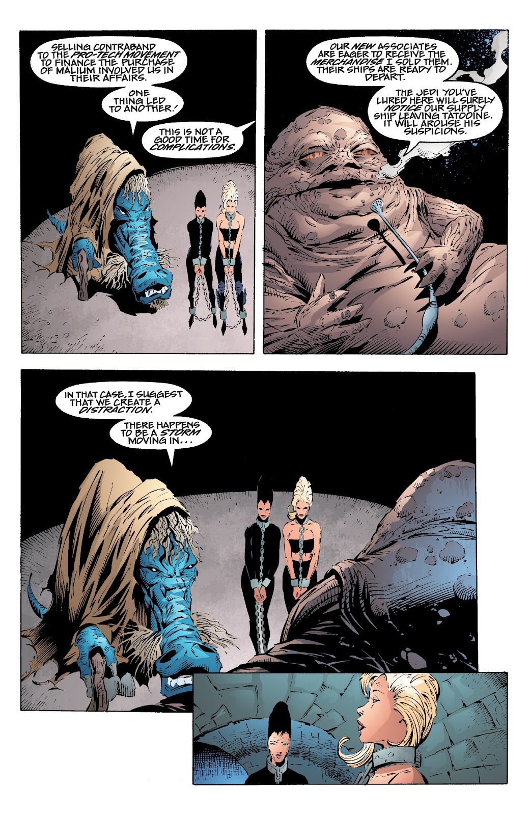 Read online Star Wars Legends: Rise of the Sith - Epic Collection comic -  Issue # TPB 2 (Part 2) - 7