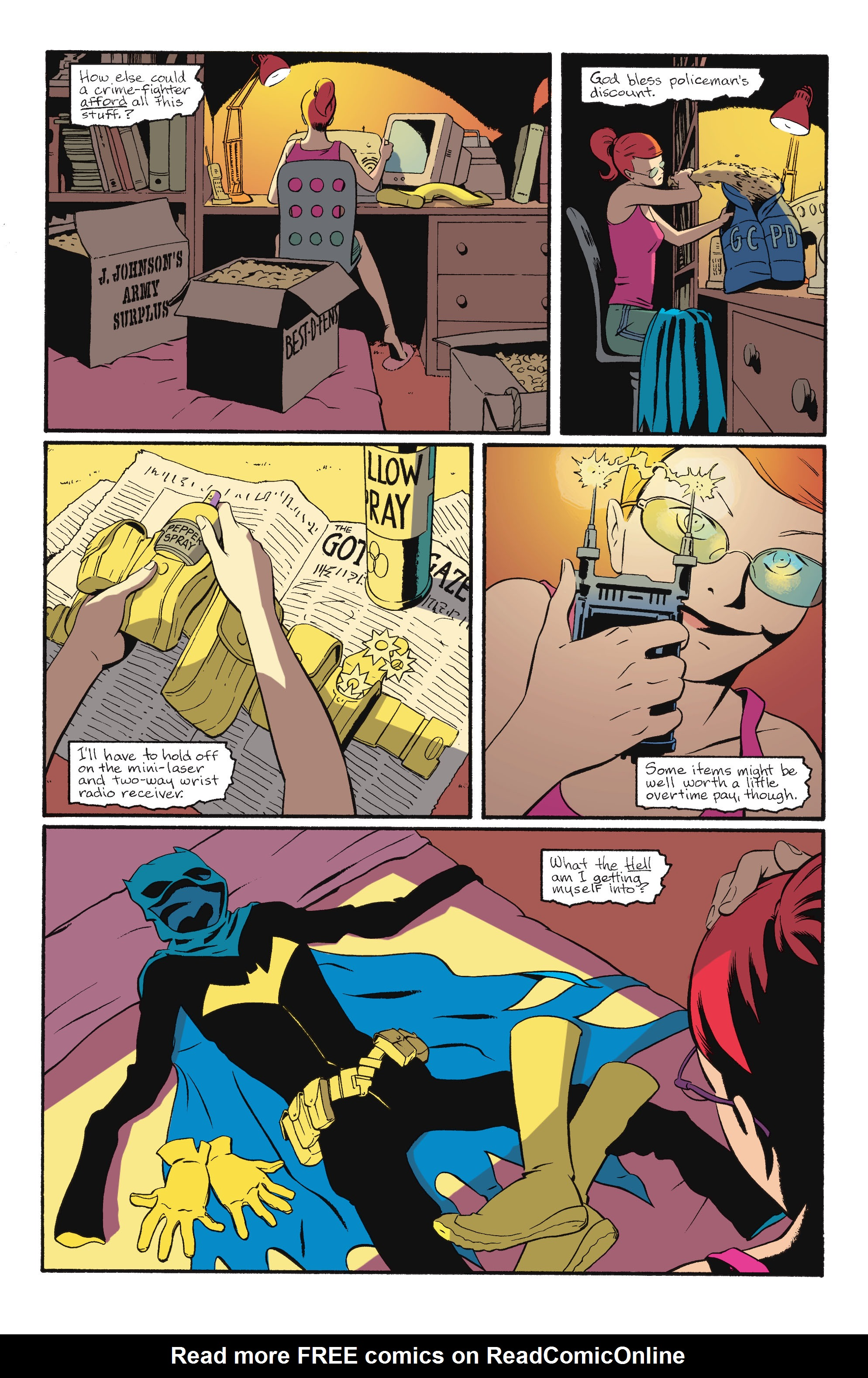 Read online Batgirl/Robin: Year One comic -  Issue # TPB 2 - 59