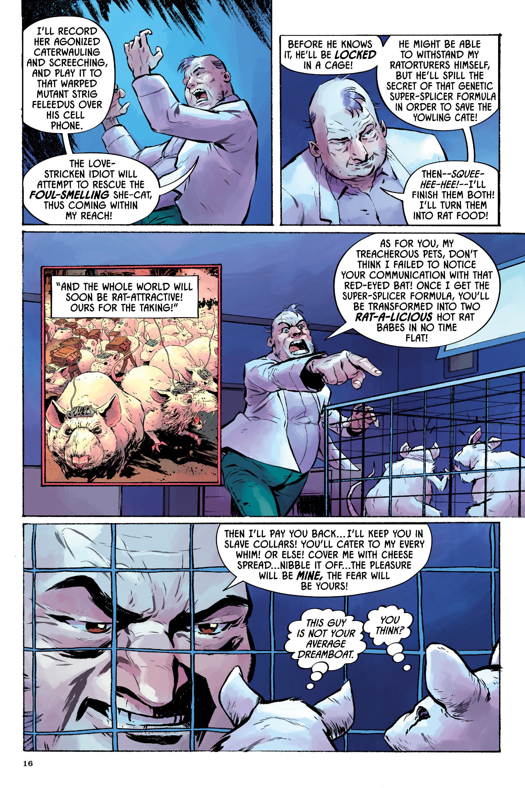Read online Angel Catbird comic -  Issue # TPB 2 - 17
