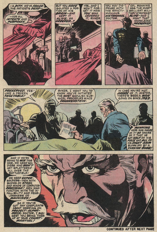 Read online Astonishing Tales (1970) comic -  Issue #25 - 6