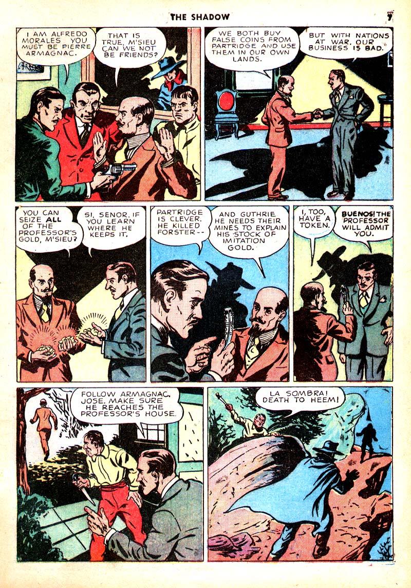 Read online Shadow Comics comic -  Issue #7 - 8
