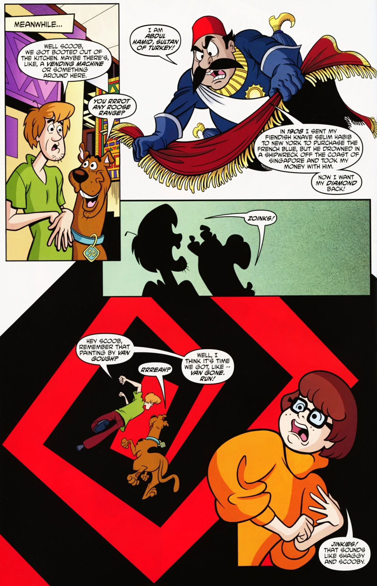 Read online Scooby-Doo: Where Are You? comic -  Issue #12 - 10