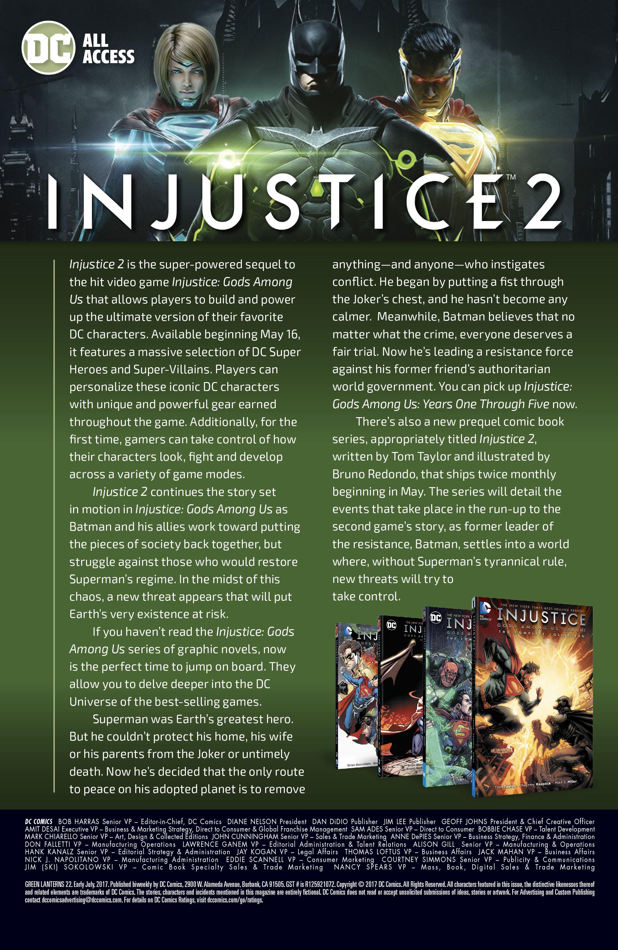 Read online Green Lanterns comic -  Issue #22 - 24