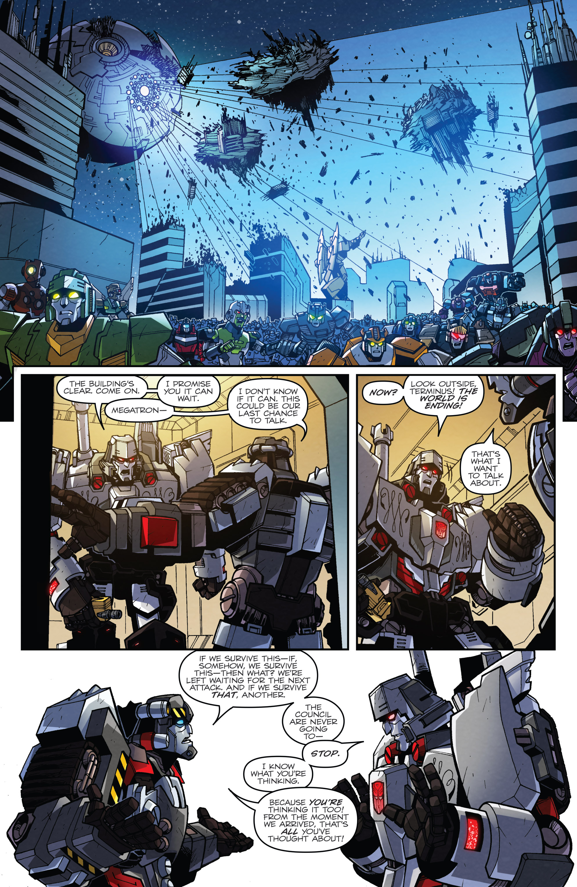 Read online Transformers: Lost Light comic -  Issue #5 - 17
