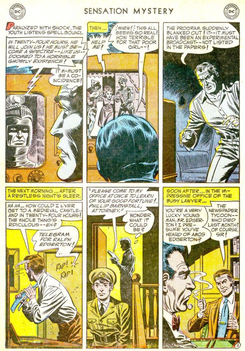 Read online Sensation (Mystery) Comics comic -  Issue #113 - 28
