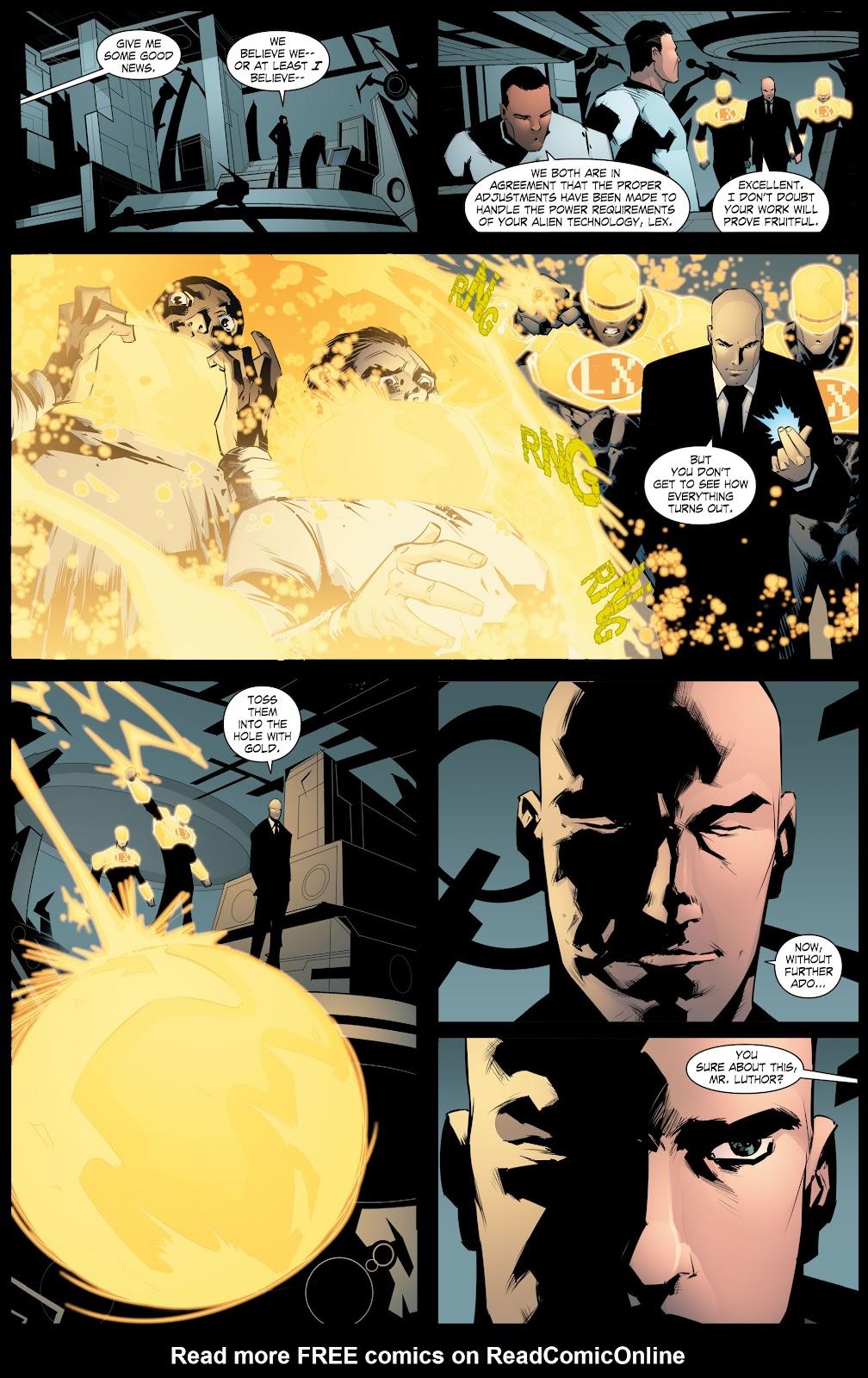 Read online Smallville Season 11 [II] comic -  Issue # TPB 8 - 126