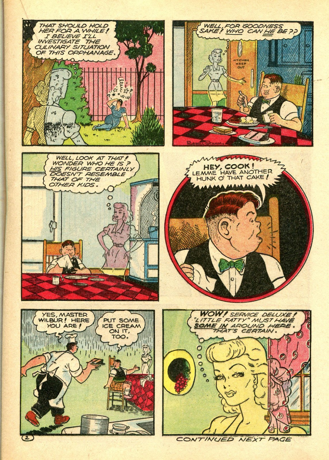 Read online Famous Funnies comic -  Issue #106 - 31