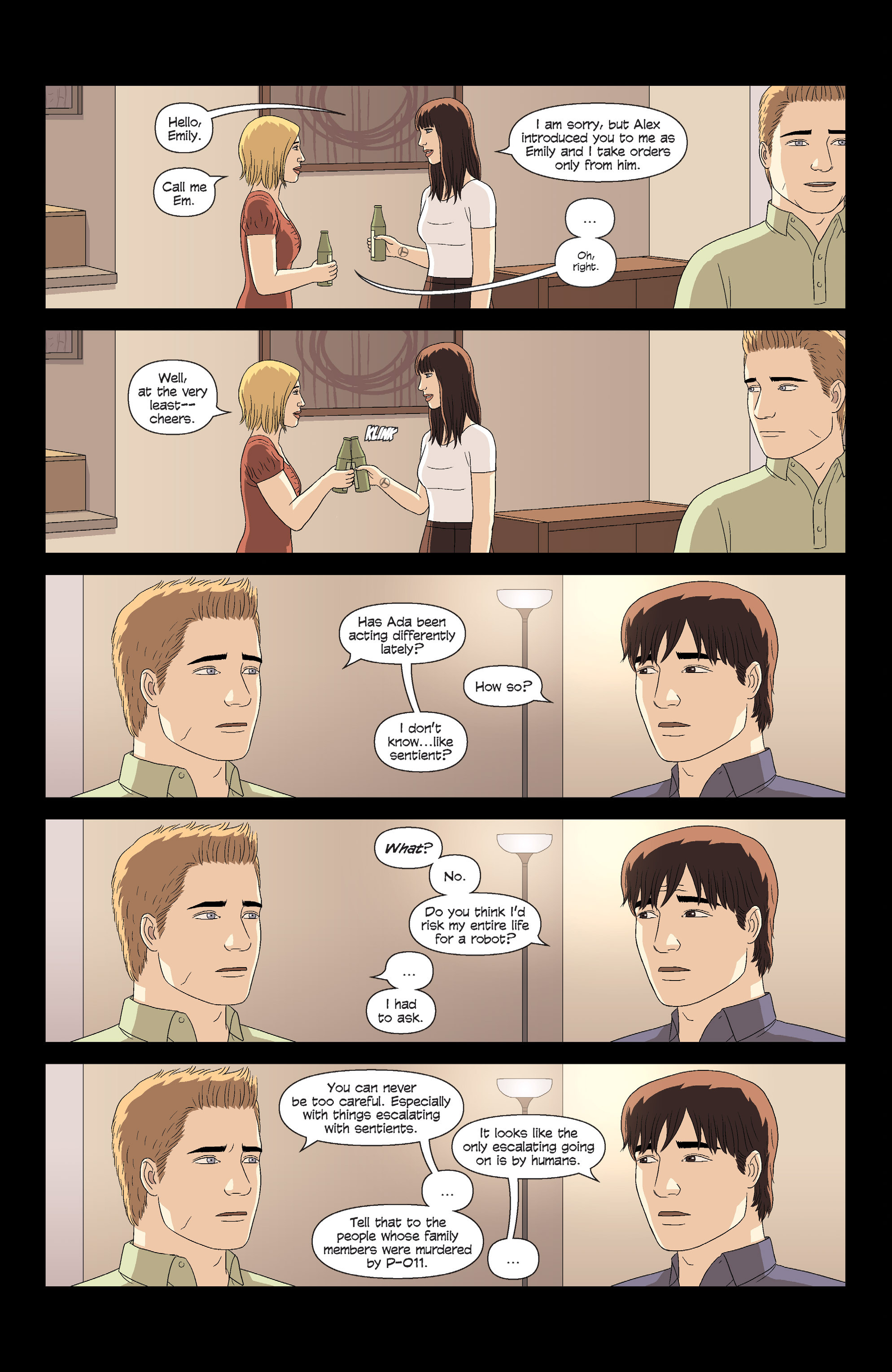 Read online Alex   Ada comic -  Issue # _TPB 3 - 19