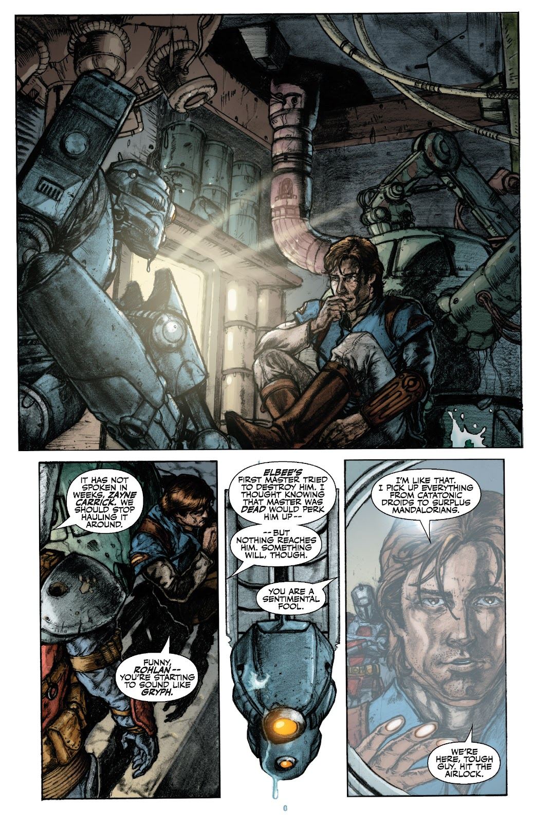 Read online Star Wars Legends: The Old Republic - Epic Collection comic -  Issue # TPB 3 (Part 1) - 8