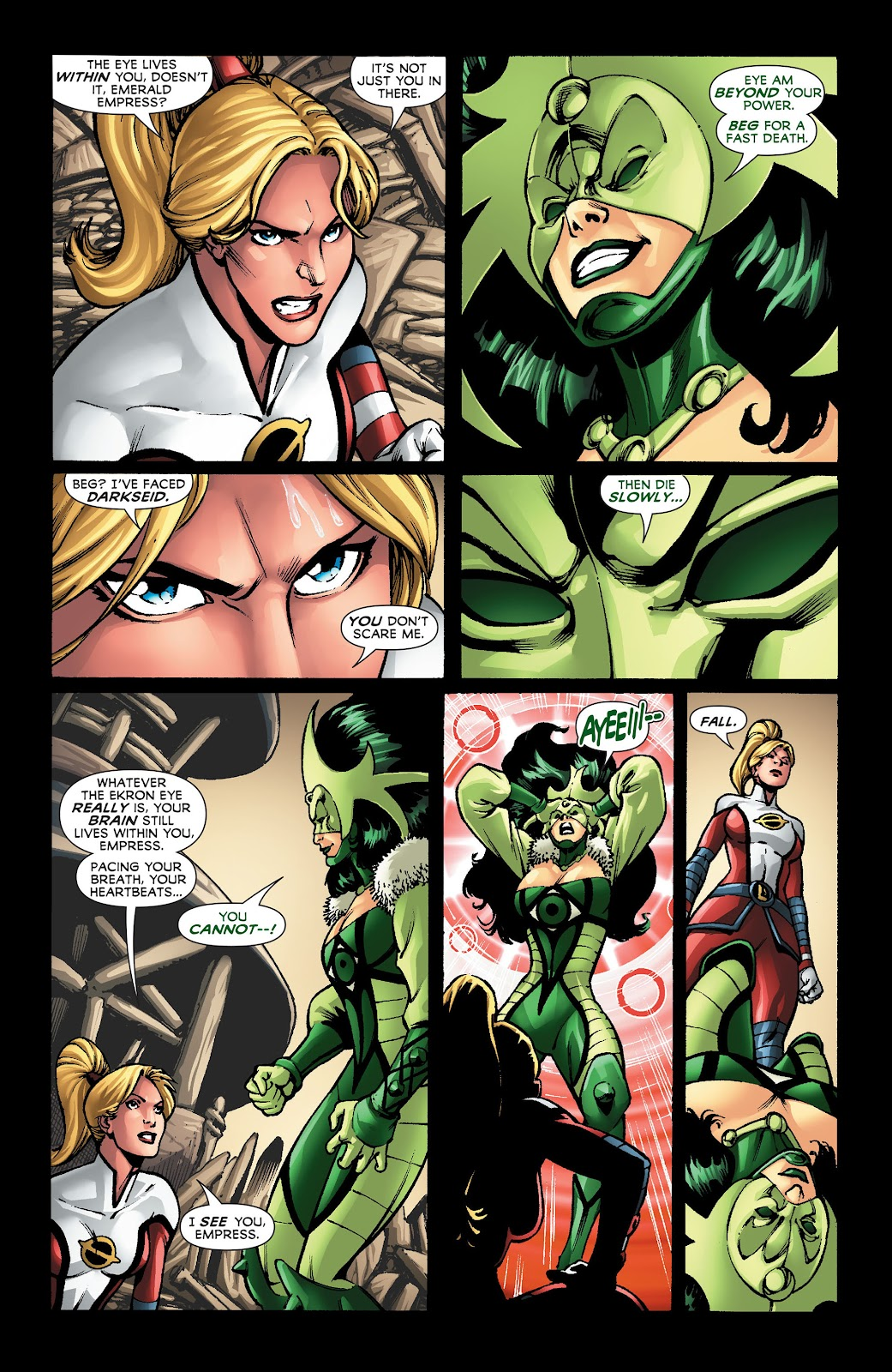 Legion of Super-Heroes (2011) Issue #22 #23 - English 12