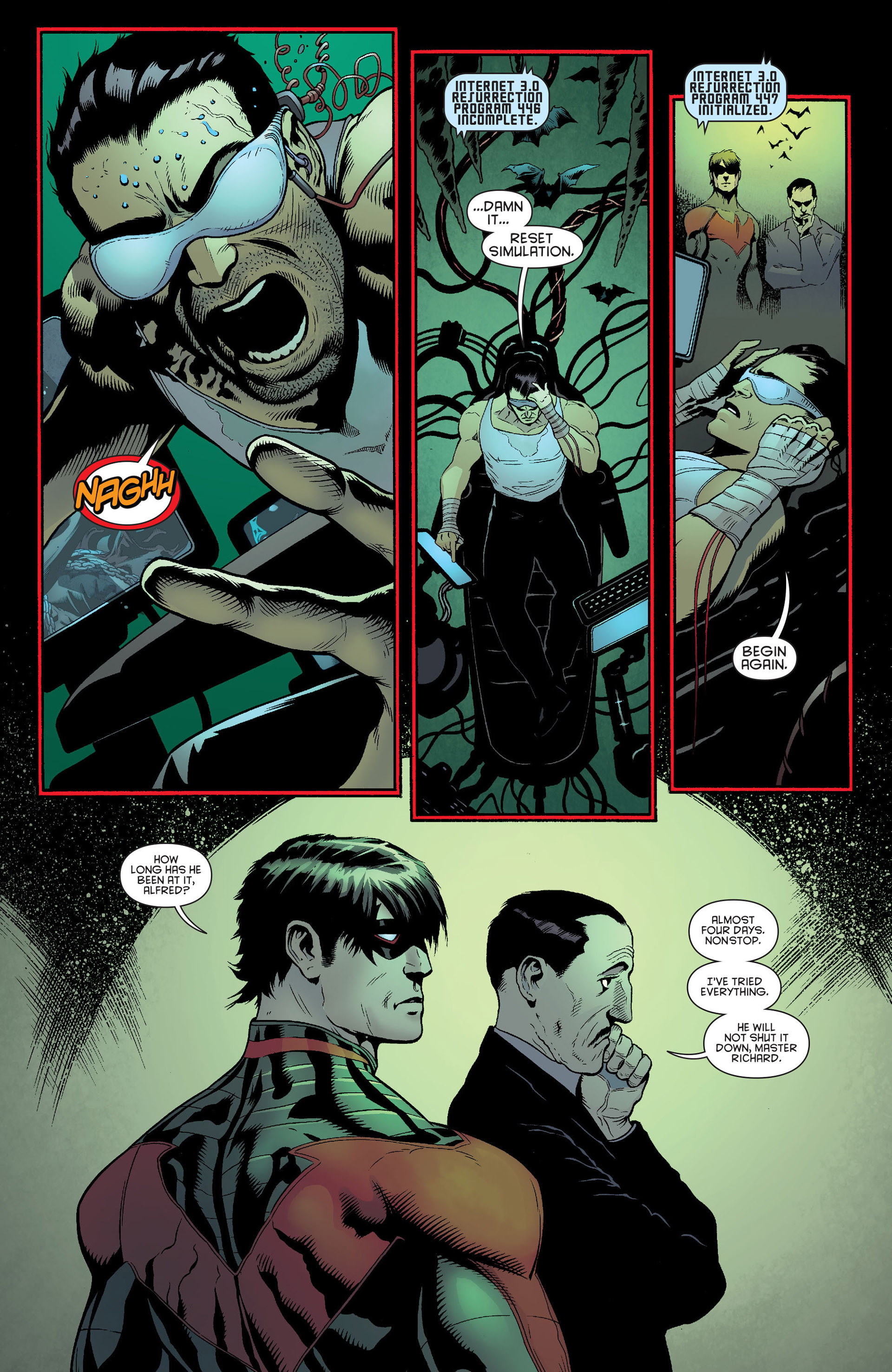 Read online Batman and Robin (2011) comic -  Issue #23 - Batman and Nightwing - 4