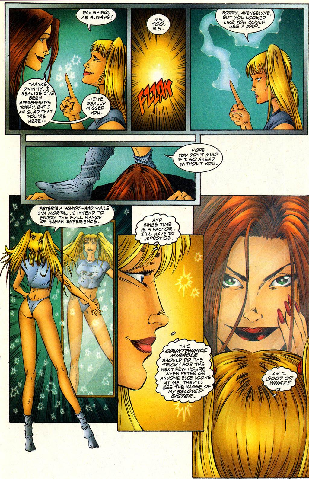 Read online Avengelyne (1996) comic -  Issue #6 - 17