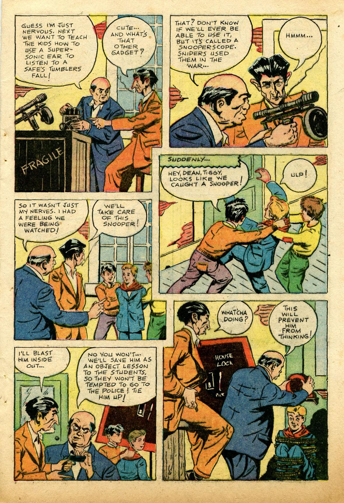 Read online Shadow Comics comic -  Issue #74 - 47