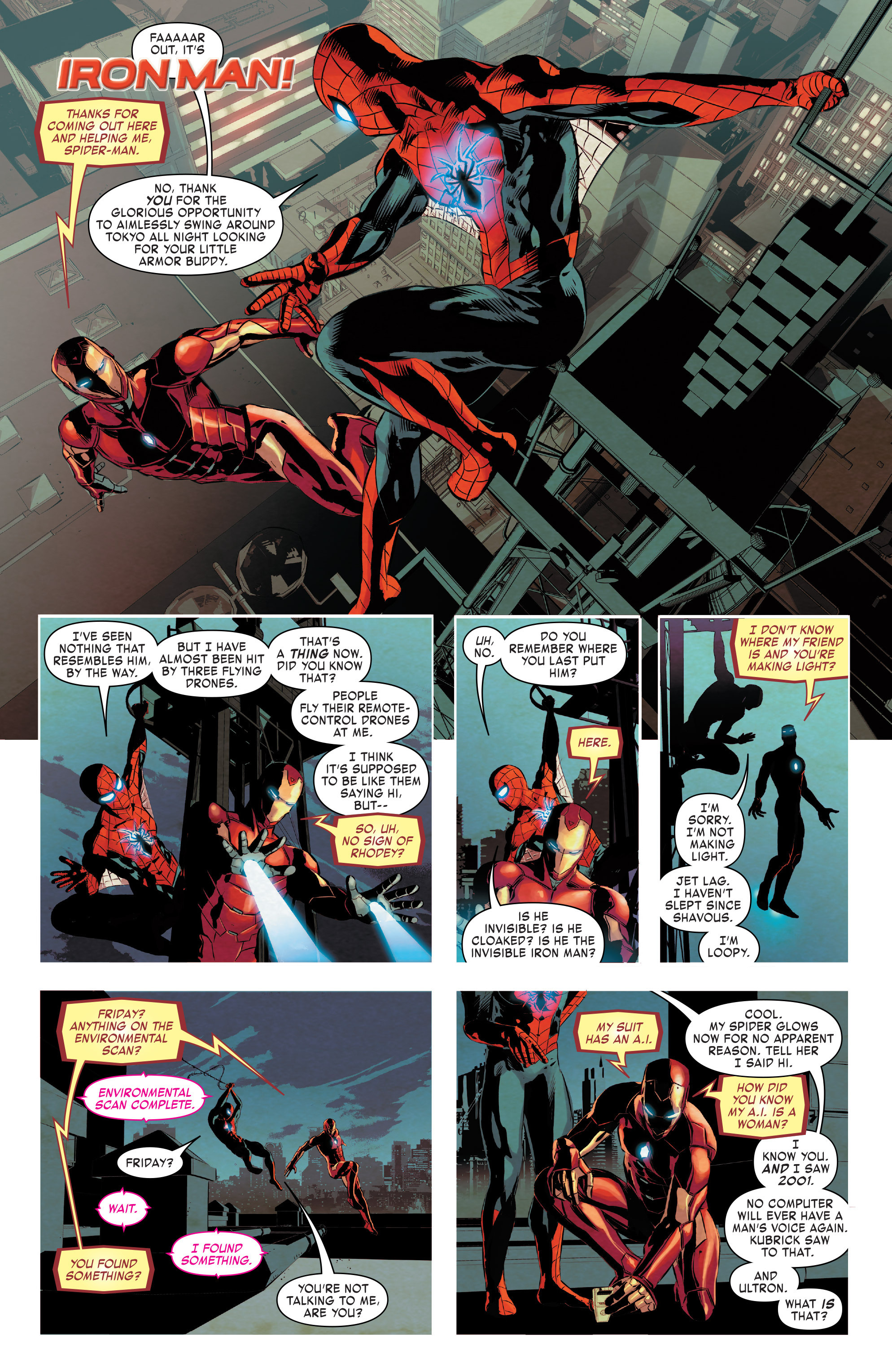 Read online True Believers: Invincible Iron Man-The War Machines comic -  Issue # Full - 49