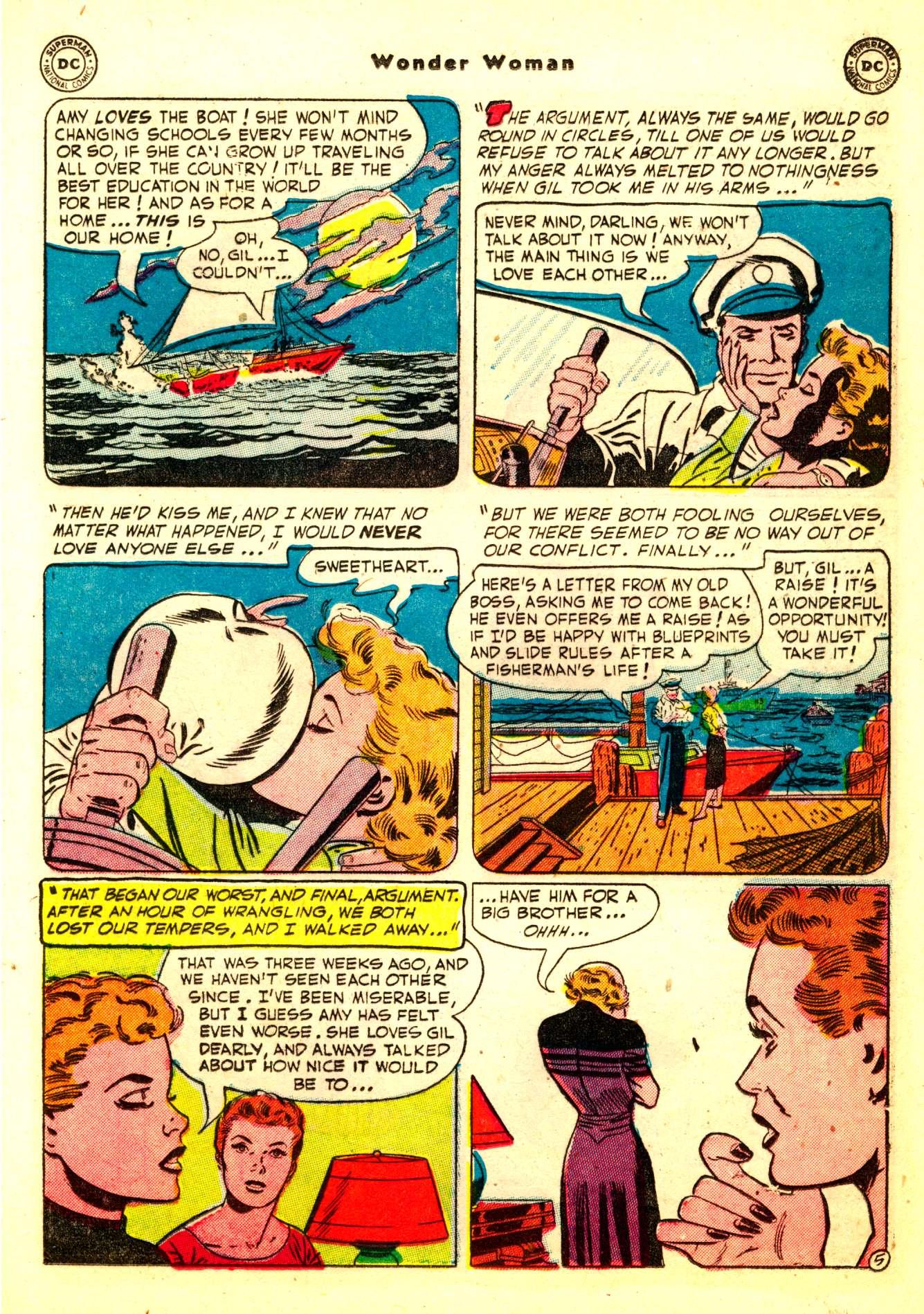 Read online Wonder Woman (1942) comic -  Issue #50 - 21