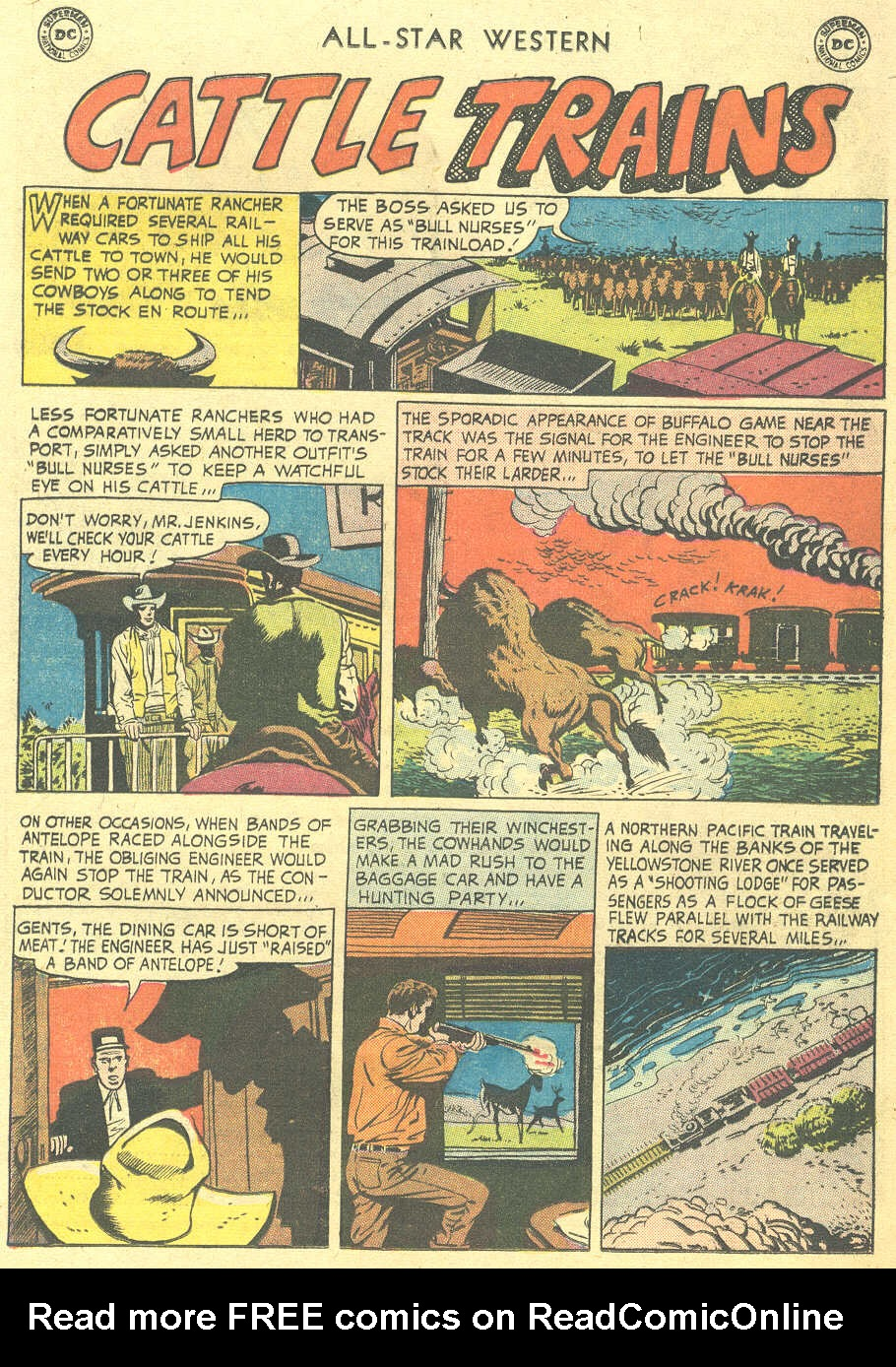 Read online All-Star Western (1951) comic -  Issue #105 - 33