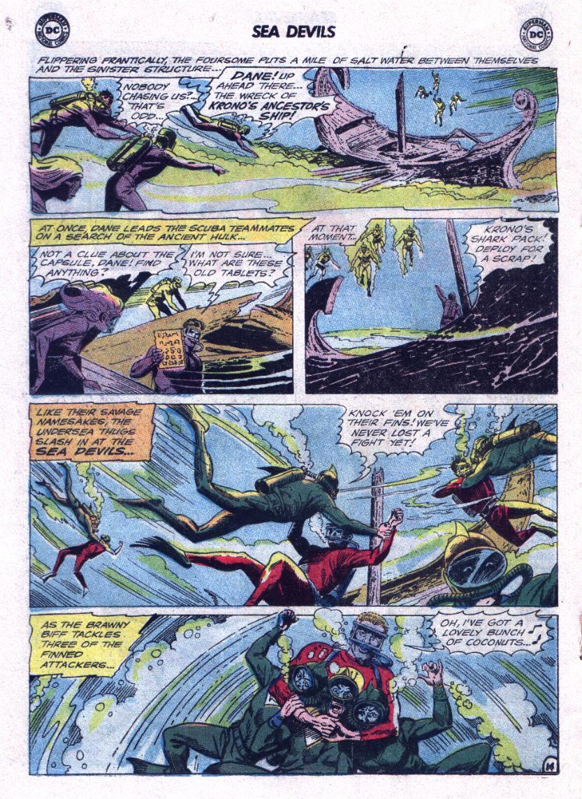 Read online Sea Devils comic -  Issue #23 - 18