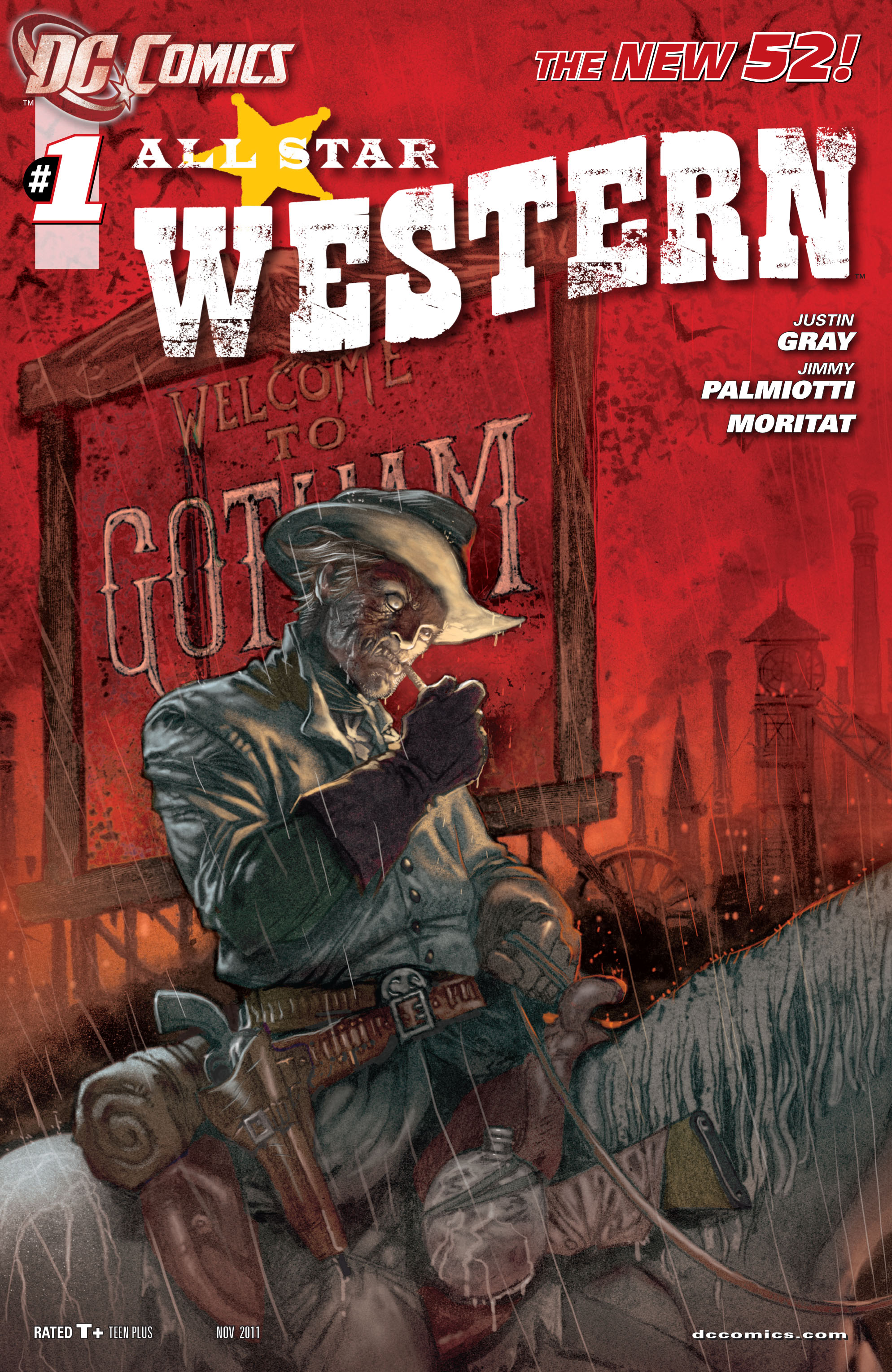 Read online All-Star Western (2011) comic -  Issue #1 - 2
