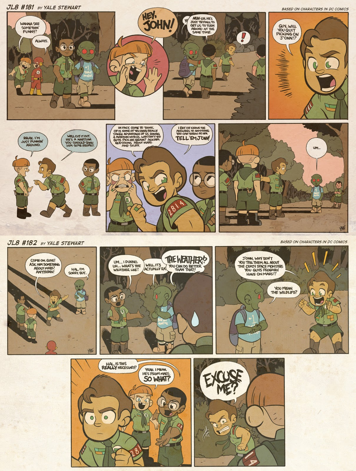 Read online JL8 – The Complete Collection comic -  Issue # TPB (Part 1) - 95