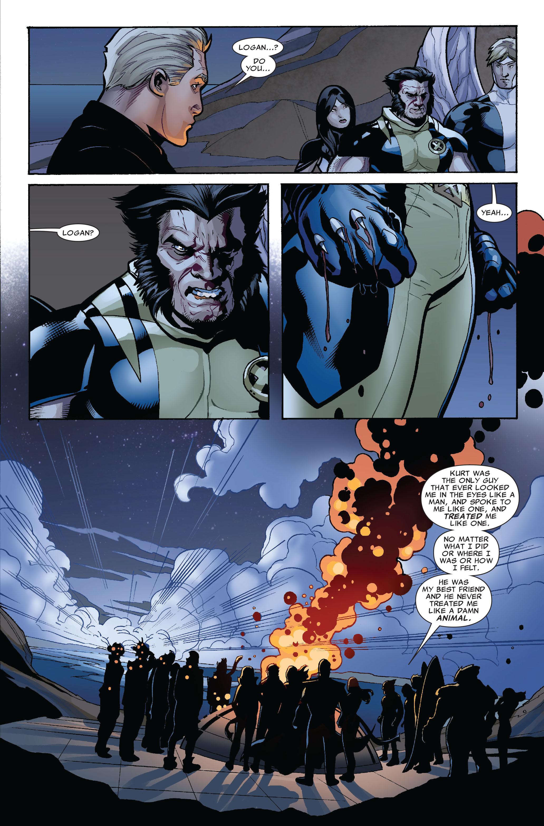 Read online Uncanny X-Men (1963) comic -  Issue #524 - 22